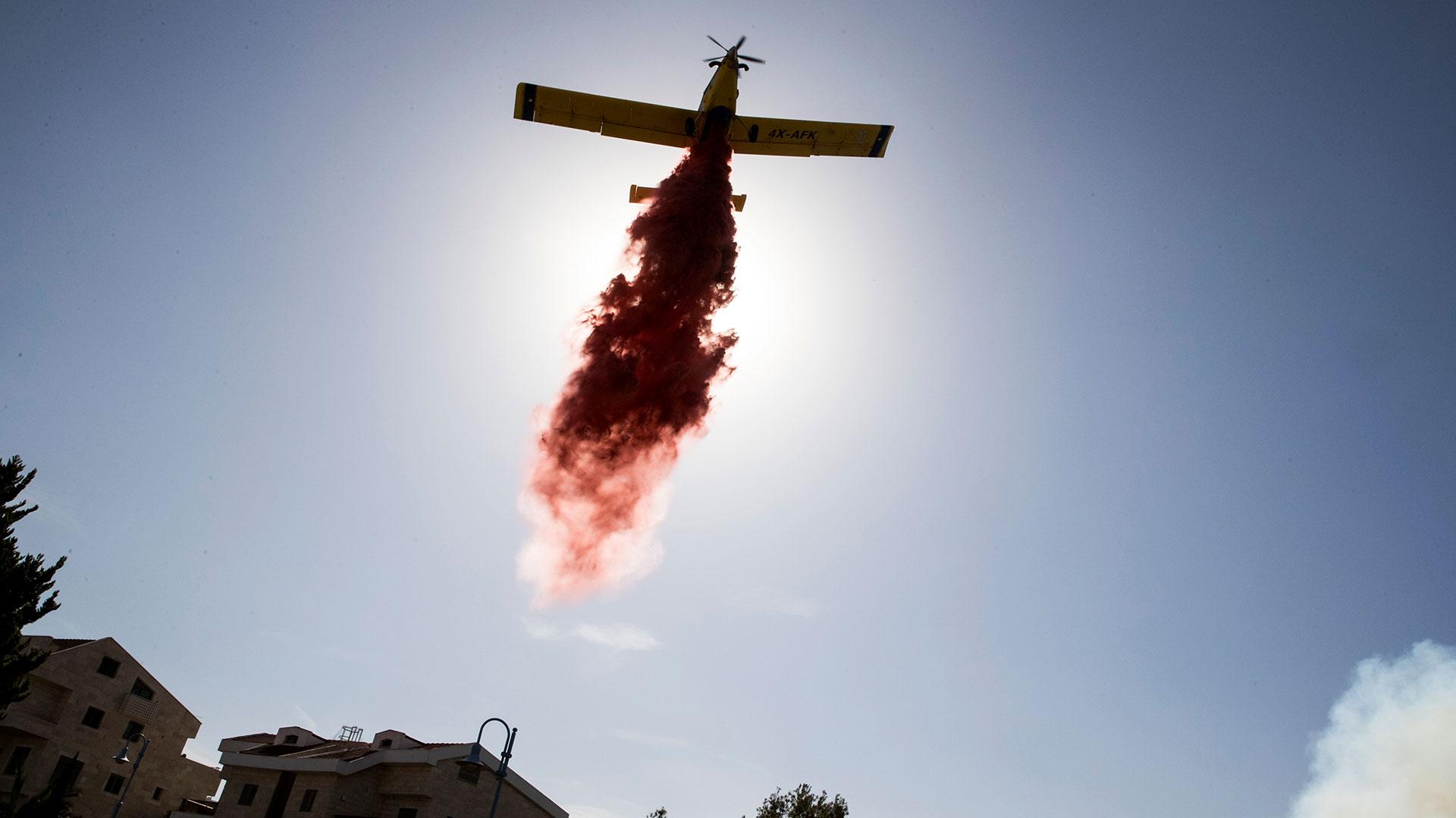 Los incendios obligaron a miles de personas a evacuar (AFP)