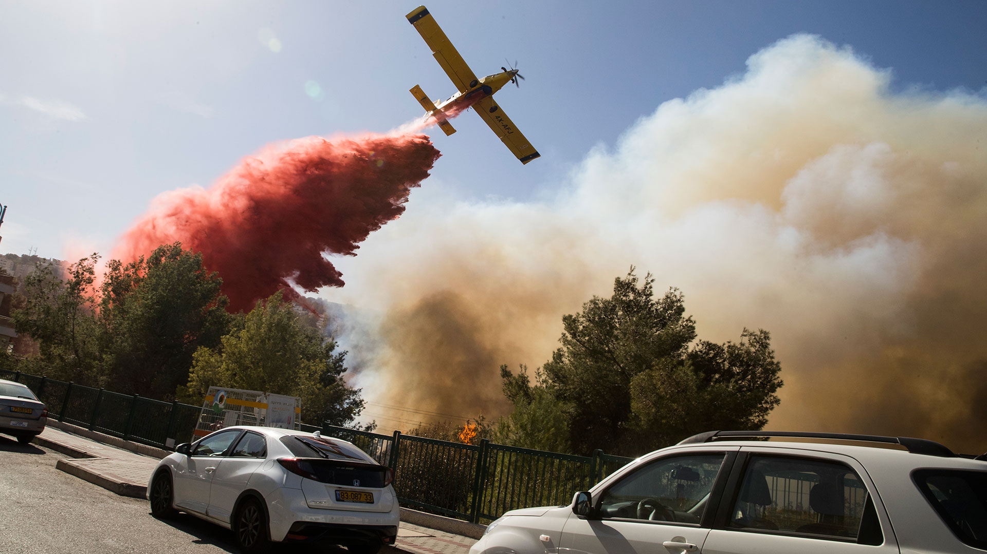 Benjamin Netanyahu pidió ayuda a la comunidad internacional (AFP)