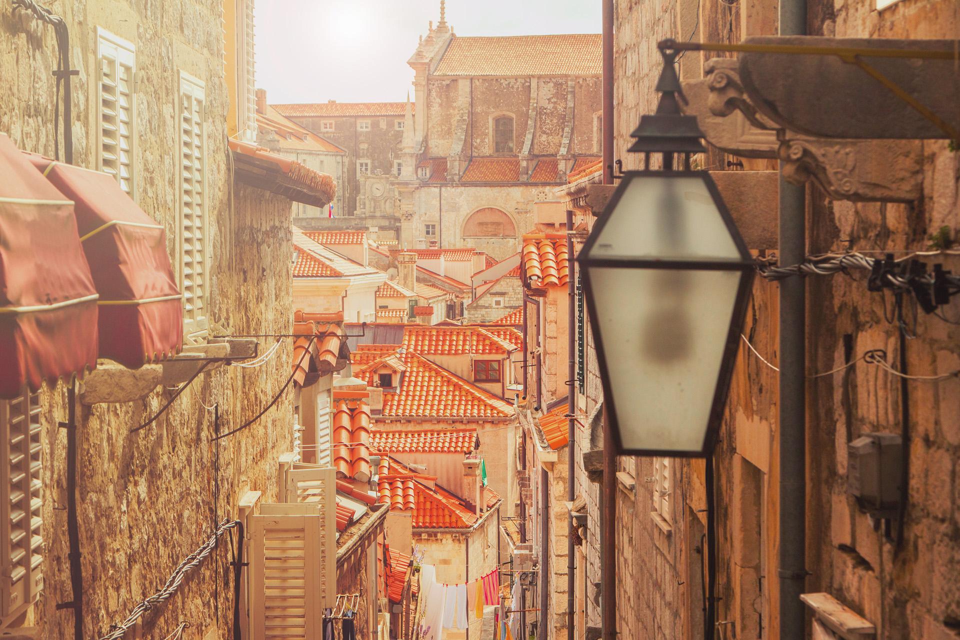 Dubrovnik o Ragusa es una ciudad costera localizada en la región de Dalmacia (iStock)