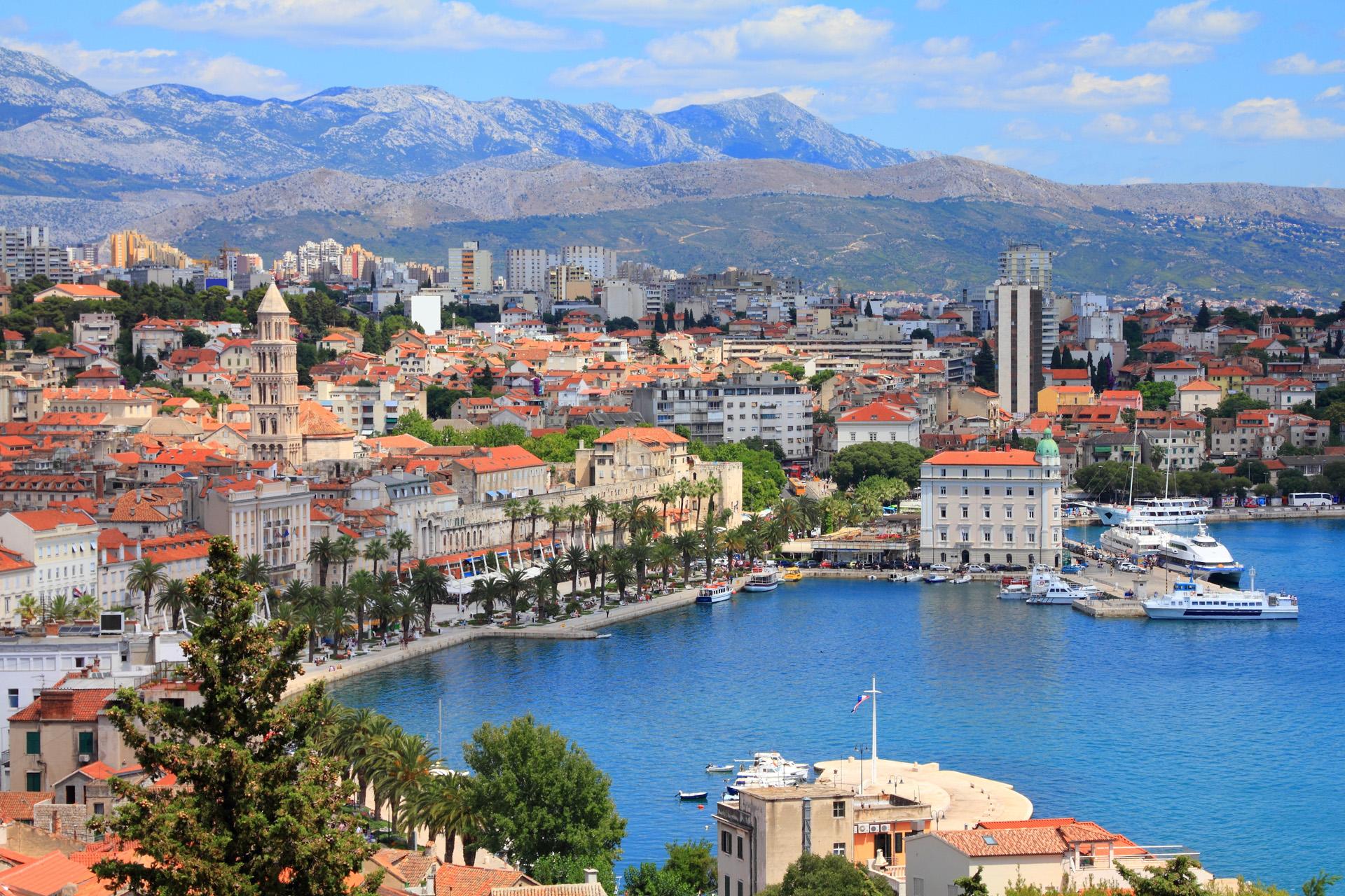 La ciudad antigua de Split es una joya arquitectónica, declarada Patrimonio de la Humanidad en 1979 (iStock)