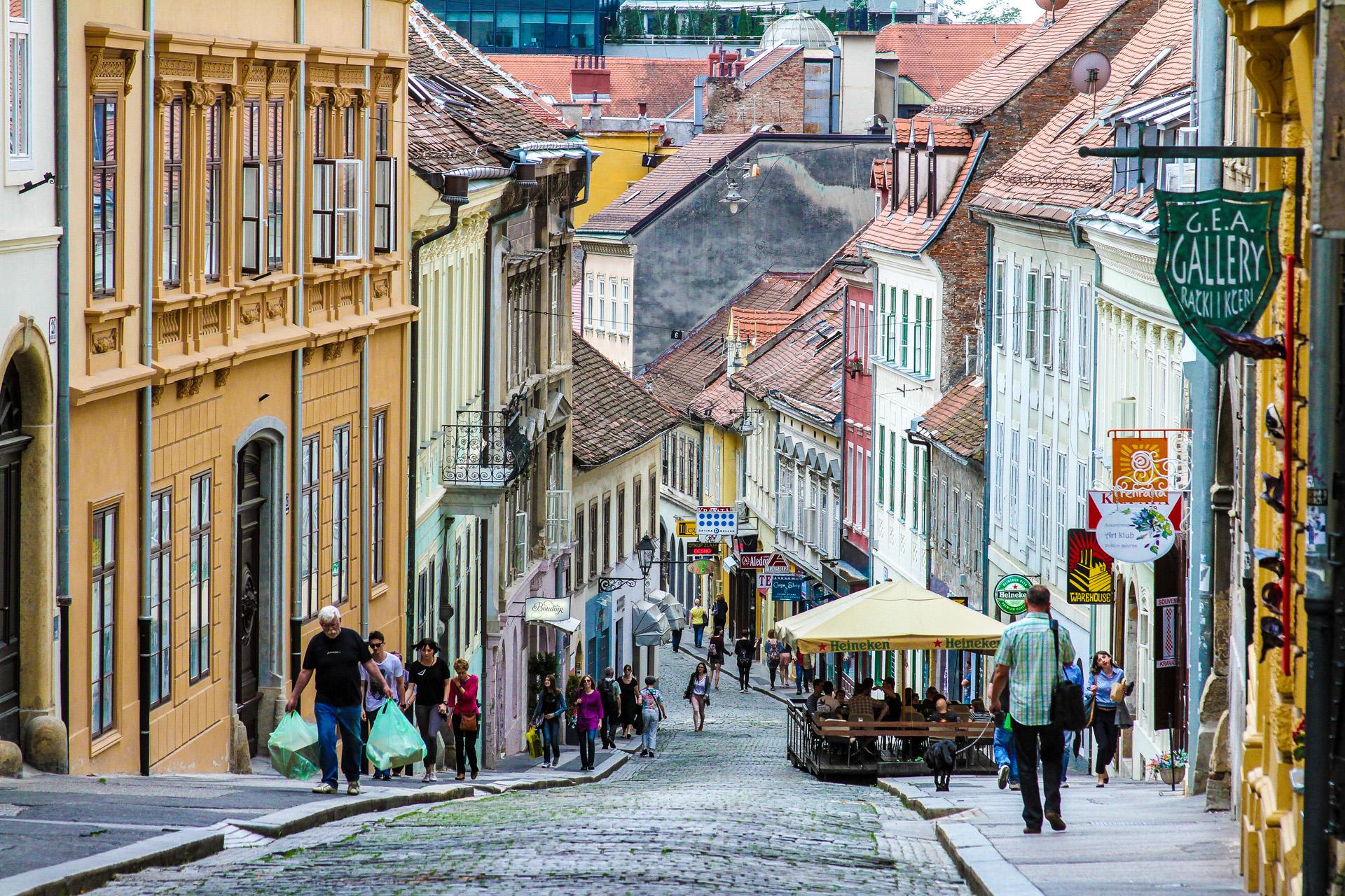 Zagreb es la ciudad más poblada de Croacia, en su área metropolitana, es la única en superar el millón de habitantes (iStock)