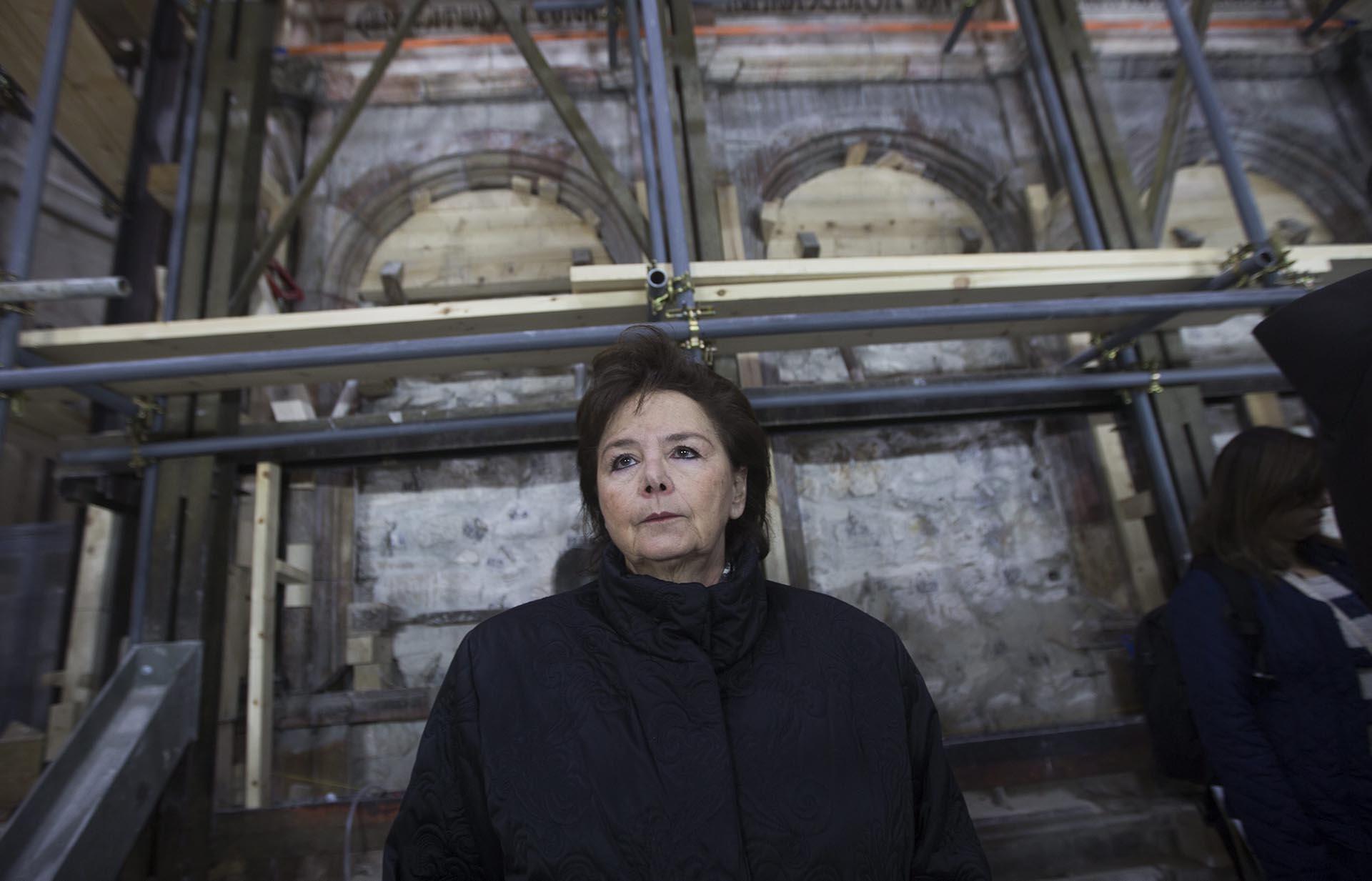 El Santo Sepulcro/Visita virtual /Apertura de la Tumba de Cristo Restauracion-tumba-Jesucristo-Jerusalen-sf-2