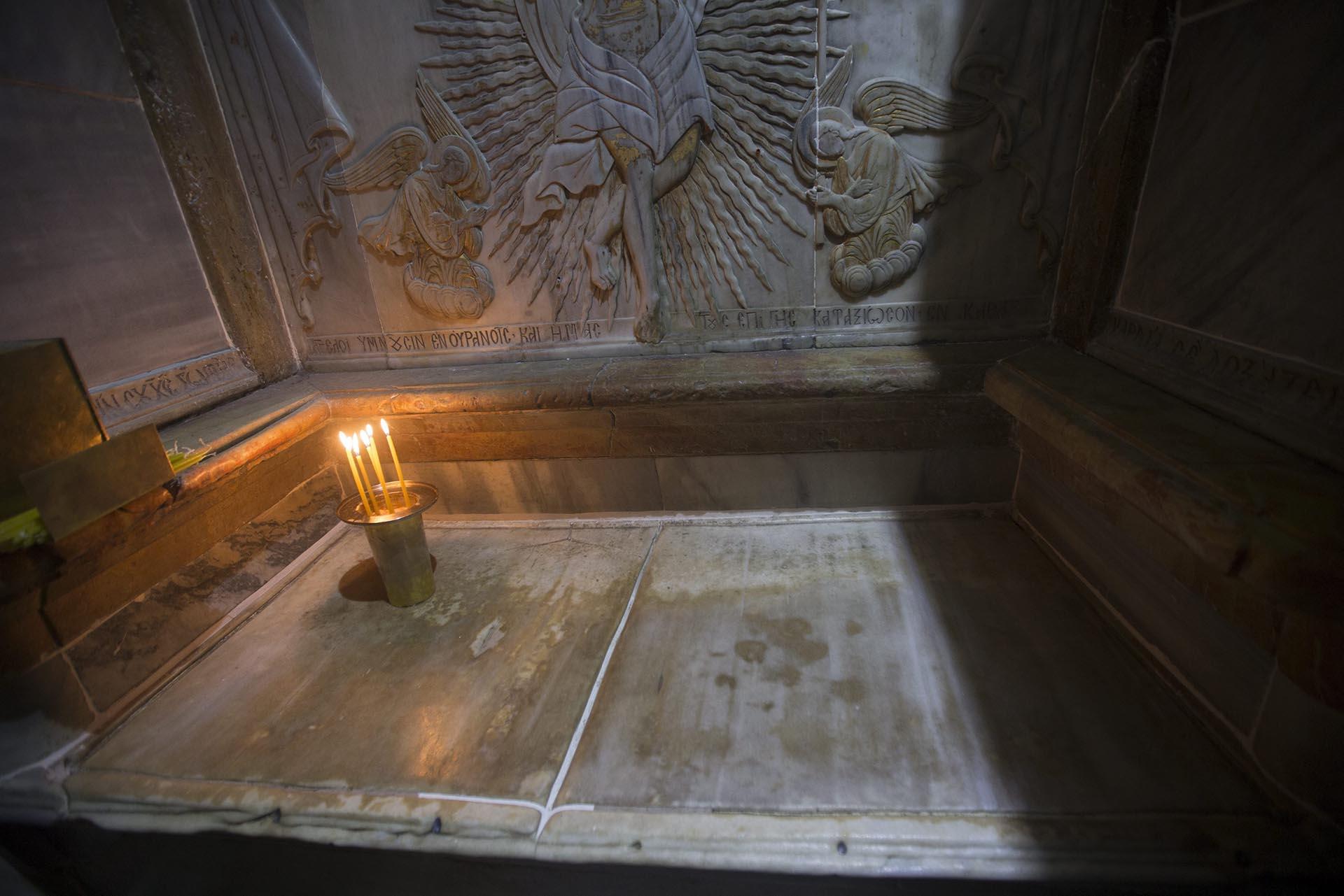 El Santo Sepulcro/Visita virtual /Apertura de la Tumba de Cristo Restauracion-tumba-Jesucristo-Jerusalen-sf-5