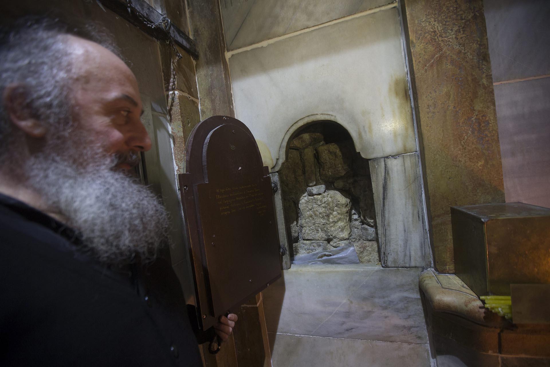 El Santo Sepulcro/Visita virtual /Apertura de la Tumba de Cristo Restauracion-tumba-Jesucristo-Jerusalen-sf-7