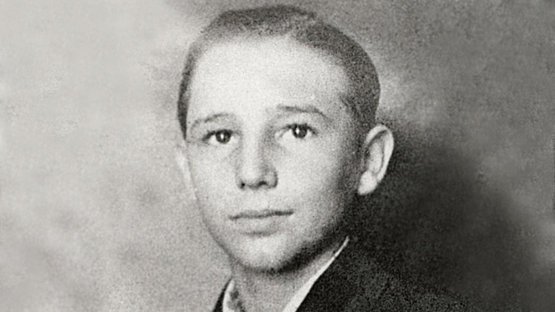 Fidel Castro en su juventud