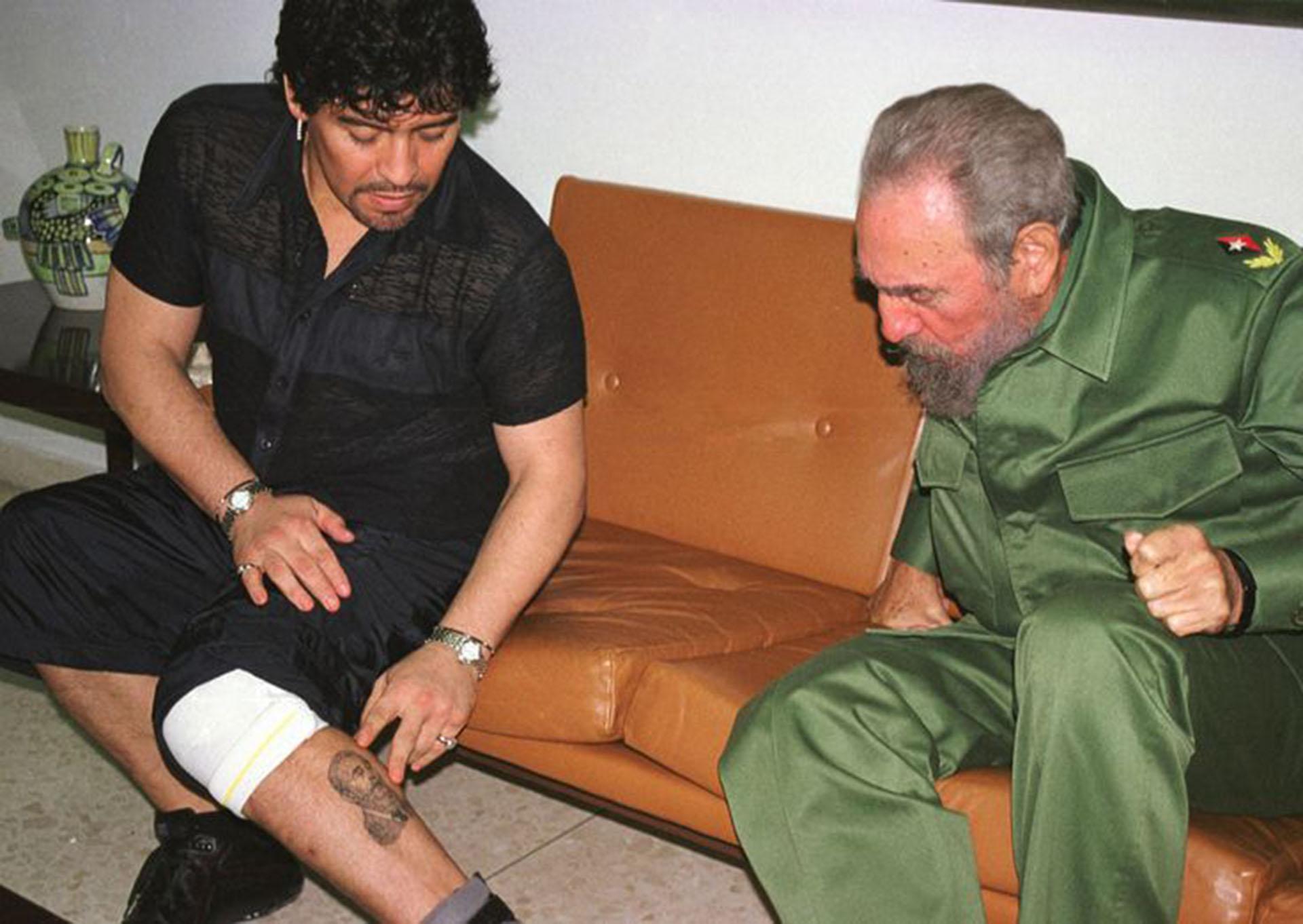 Fidel Castro, Maradona y la loca anécdota con una tapa de inodoro - Infobae