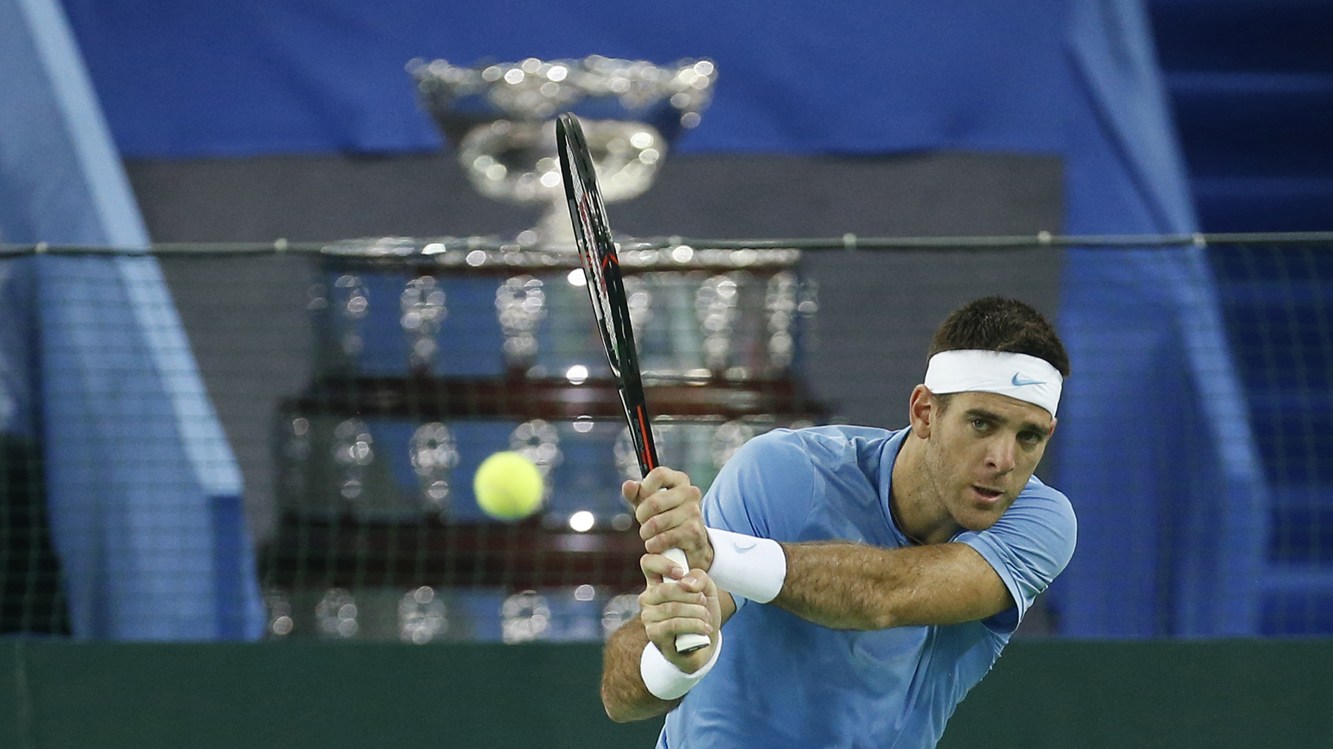 Juan Martín del Potro sostuvo que la Copa Davis es una etapa cerrada en su vida (AP)