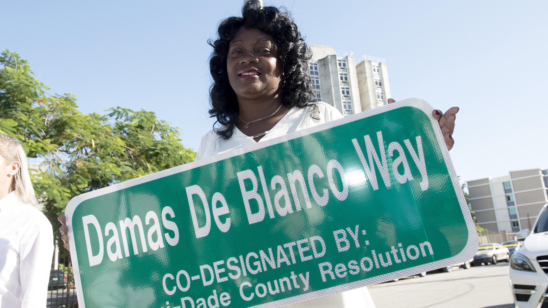 Berta Soler dijo que los anuncios de Trump beneficiarán a la sociedad civil cubana (EFE)