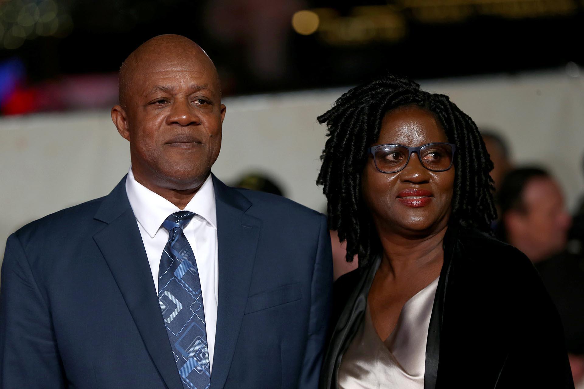Los padres de Usain Bolt fueron invitados de lujo en el hotel en donde se realizó el evento