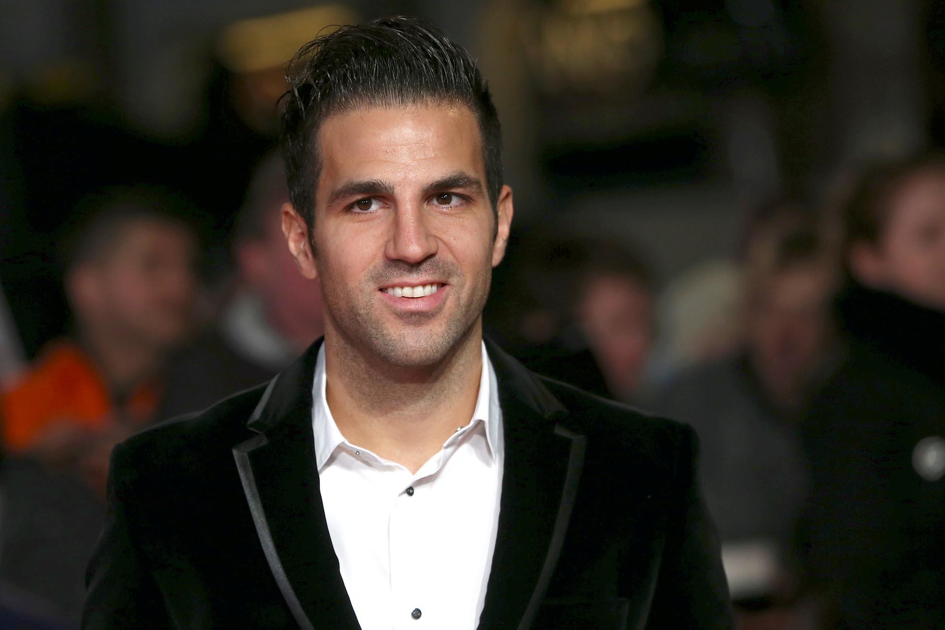 El futbolista español Cesc Fabregas fue otra de las figuras invitadas