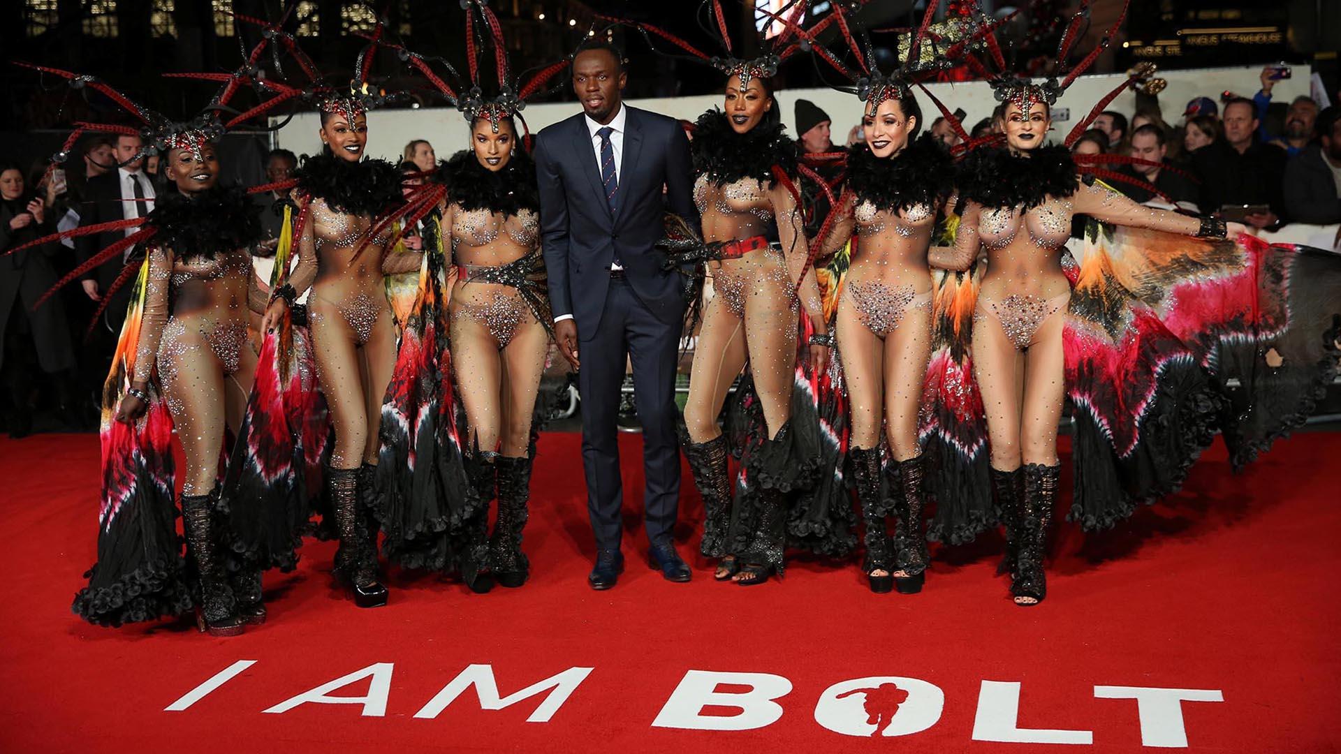 "Usain Bolt presentó este lunes en Londres ""I am Bolt"""
