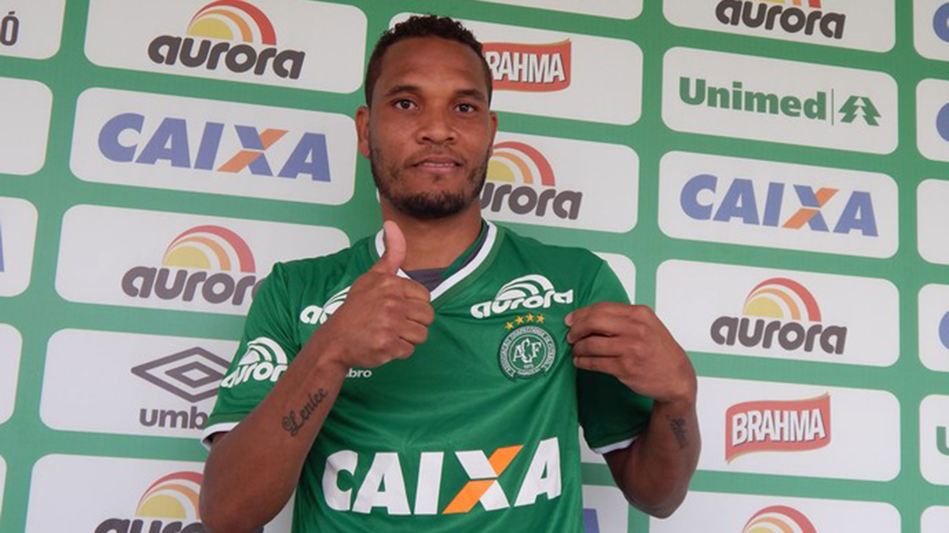 William Thiego, defensor del Chapecoense