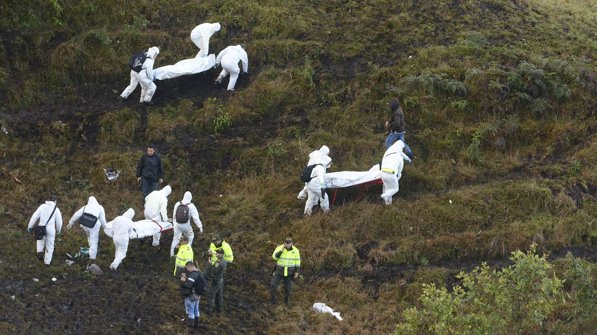 El fotógrafo Luis Benavides de AP fue uno de los primeros reporteros gráficos en llegar hasta el lugar de la tragedia