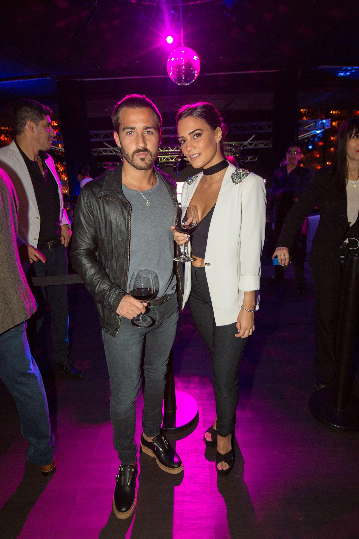 Nicolas Francella y su novia