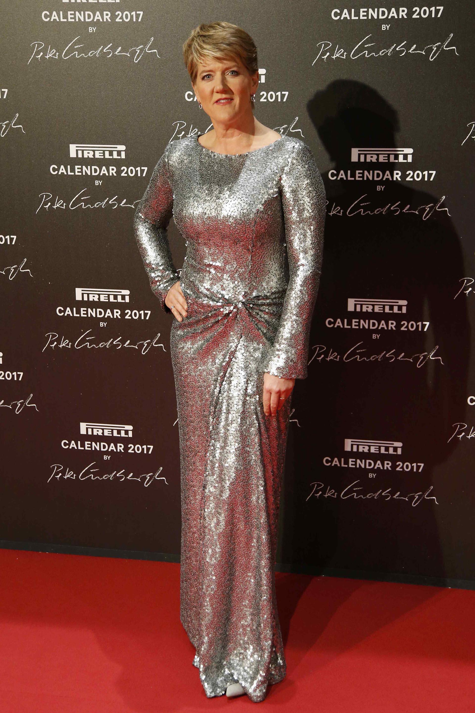 La presentadora de la BBC, Clare Balding, ofició de maestra de ceremonias en la cena de gala y en los encuentros de las estrellas con la prensa