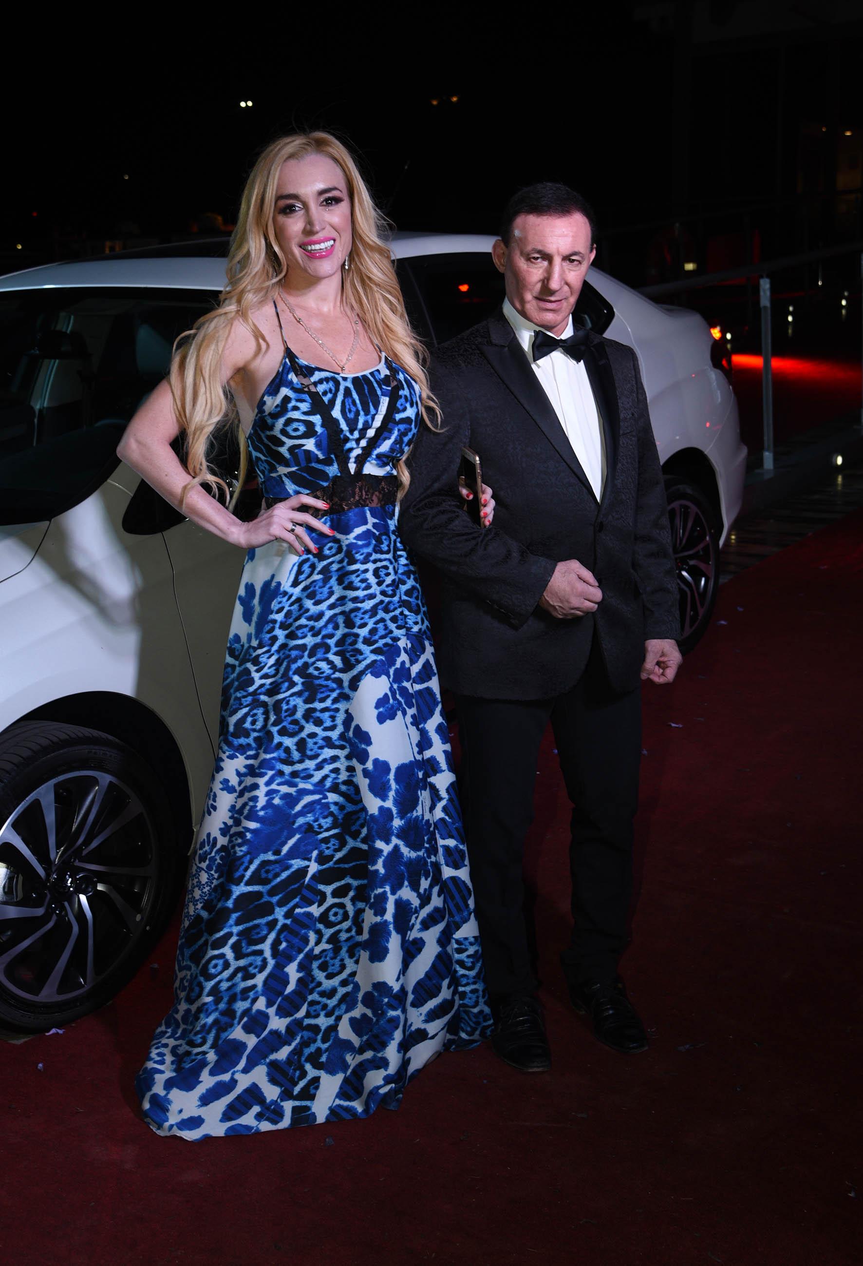 Fátima Florez y su marido