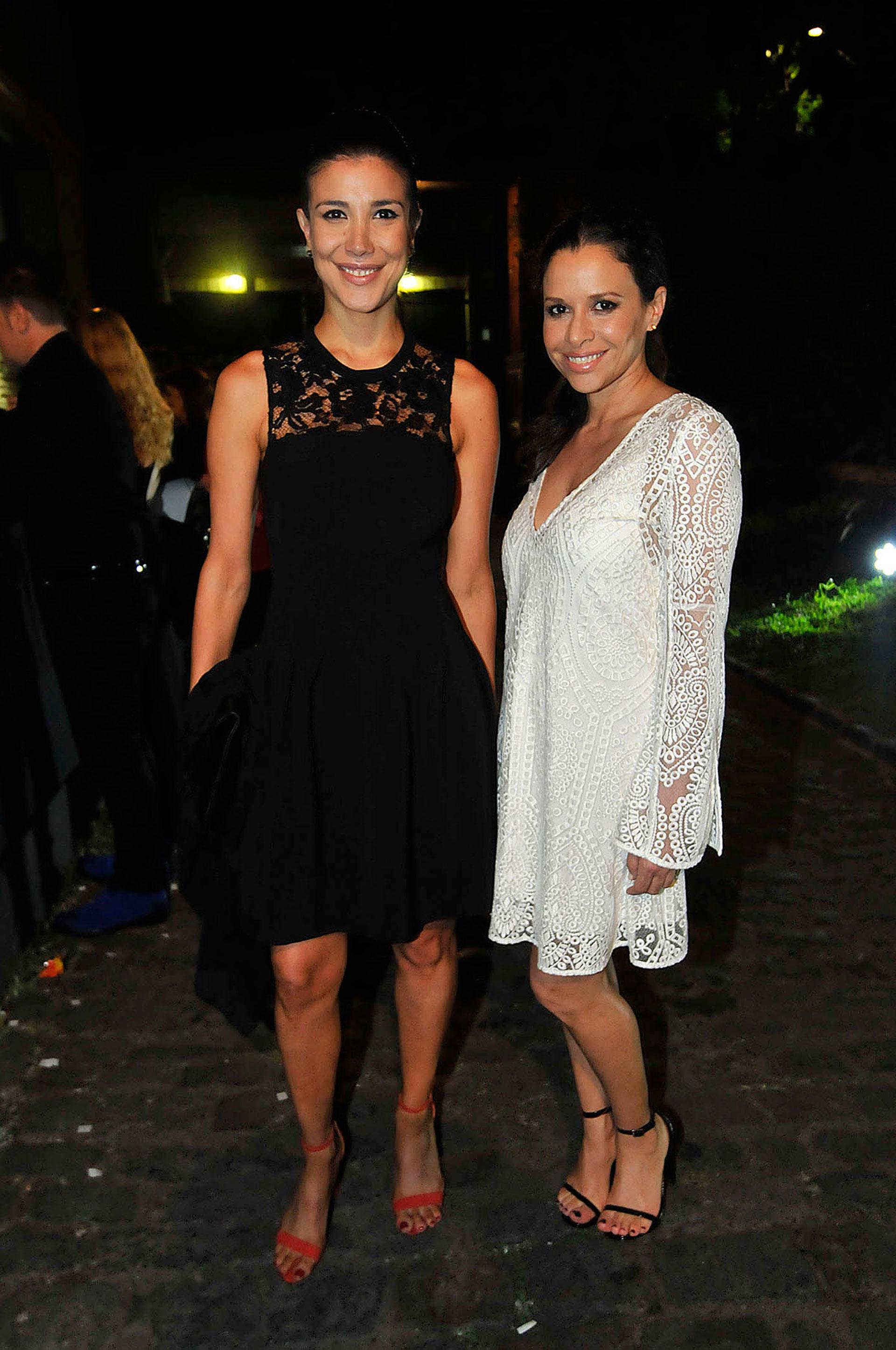 Andrea Rincón y Julieta Ortega