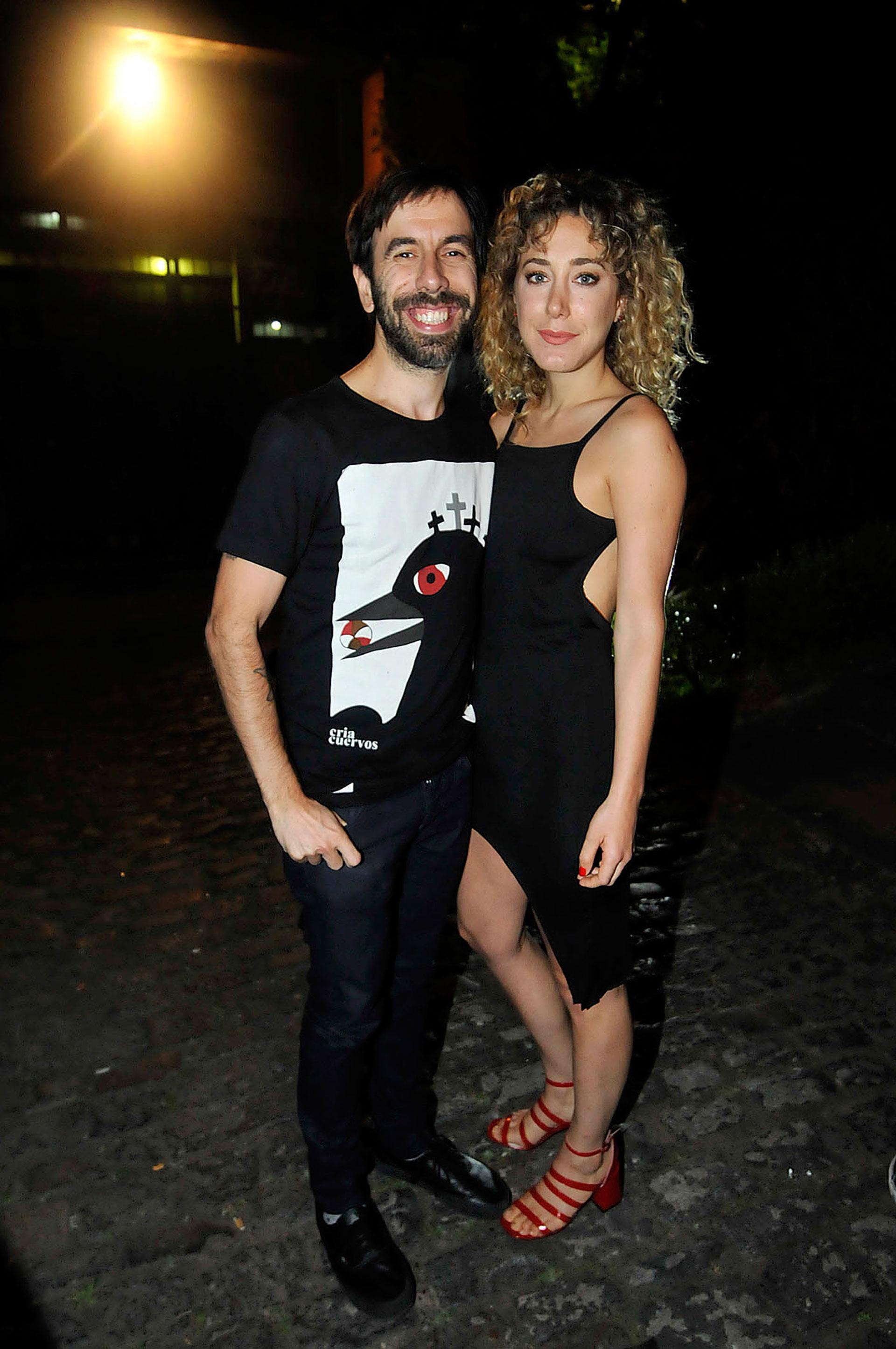 Anita Pauls y Clemente Cancela