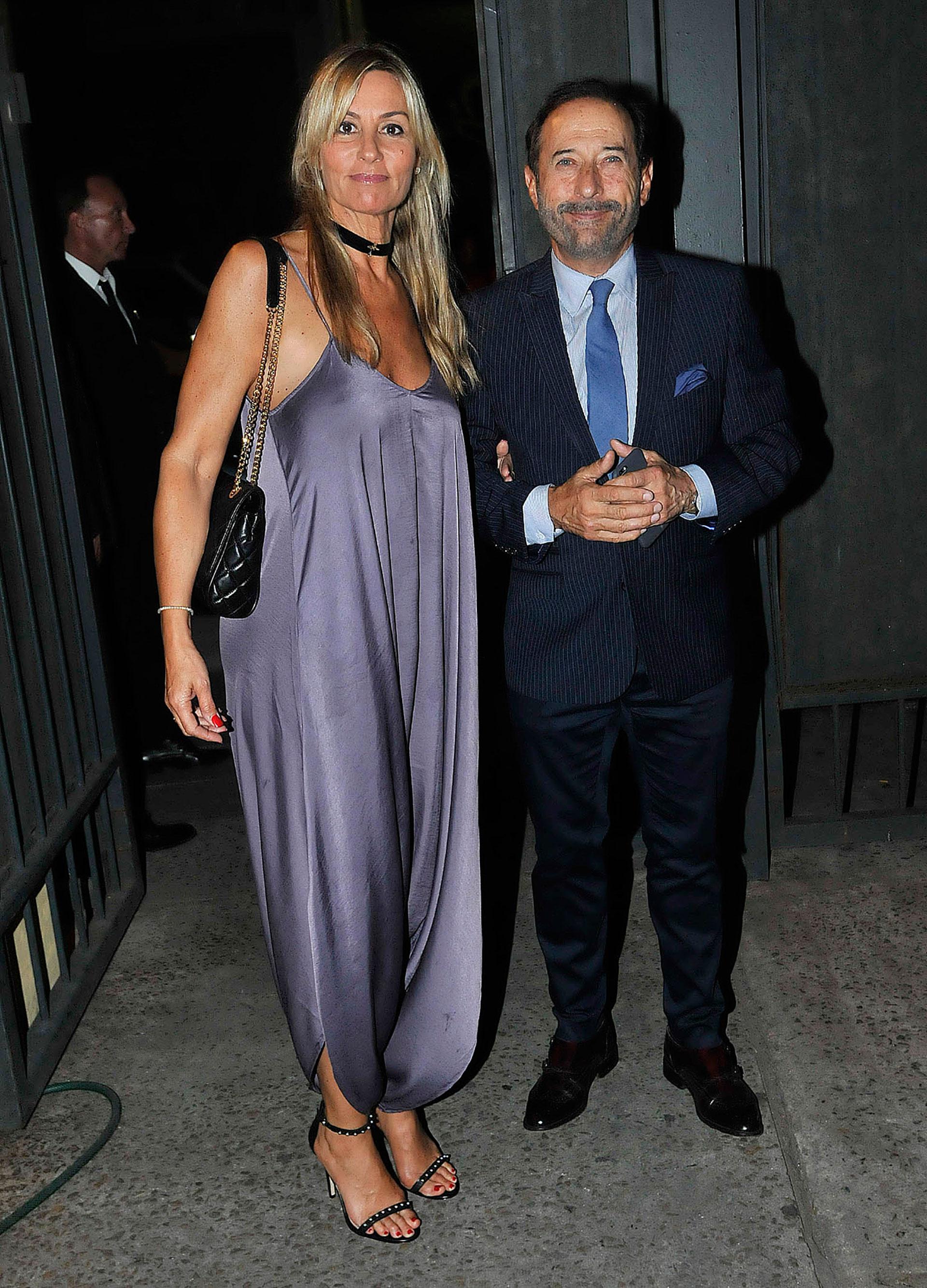 Guillermo Francella y su mujer