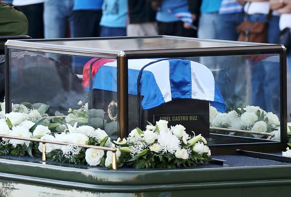 Este martes, el presidente de Cuba, Raúl Castro, encabezó una ceremonia en memoria de su hermano