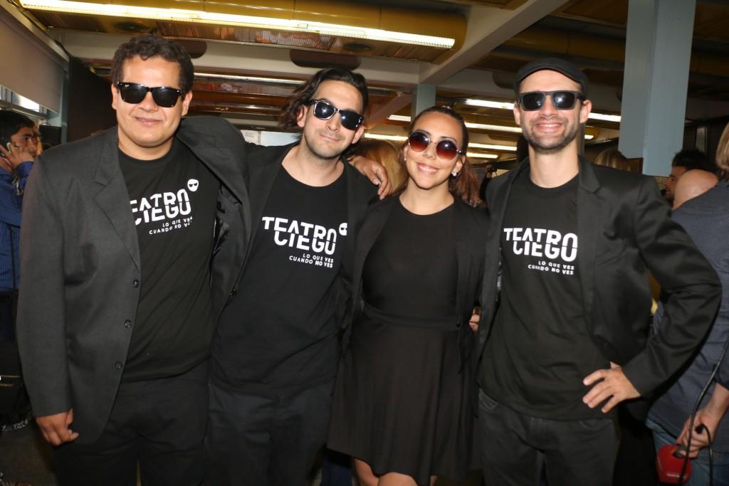 El equipo de Teatro Ciego