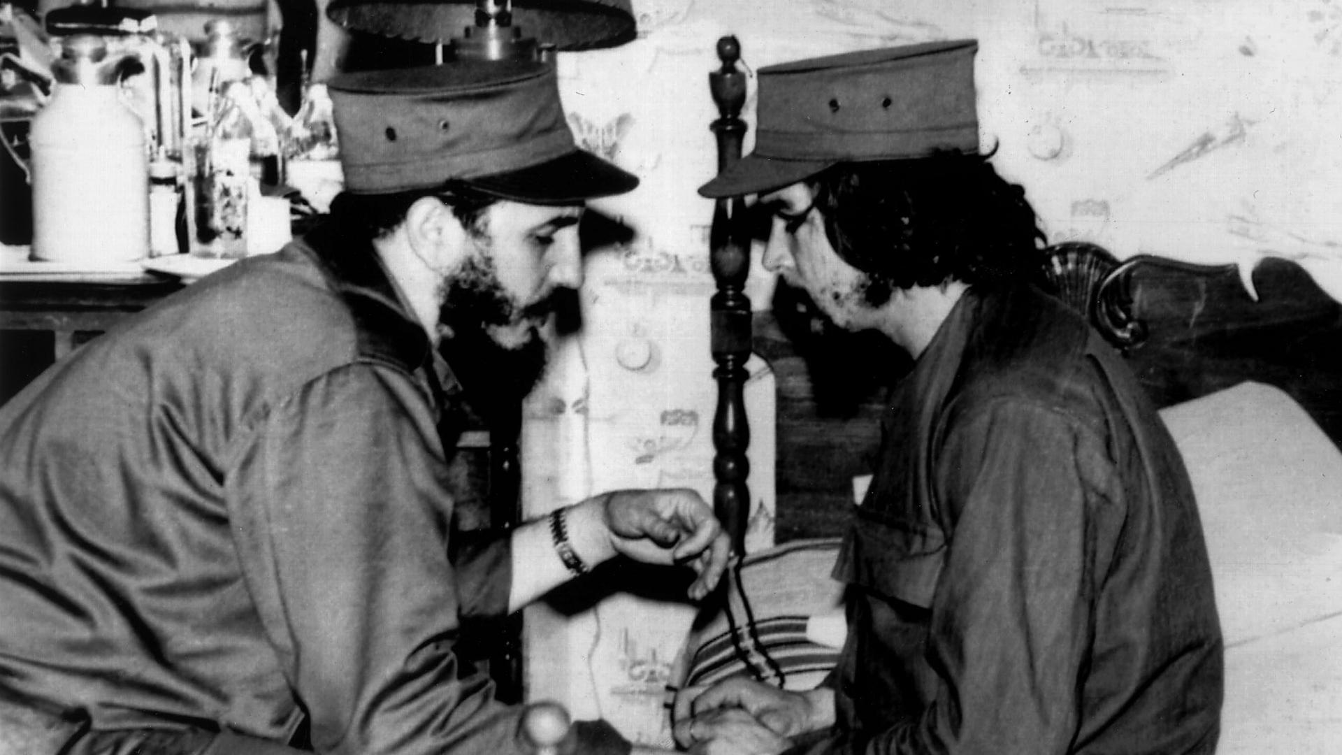 Castro y Guevara en La Habana, ya triunfada la revolución.