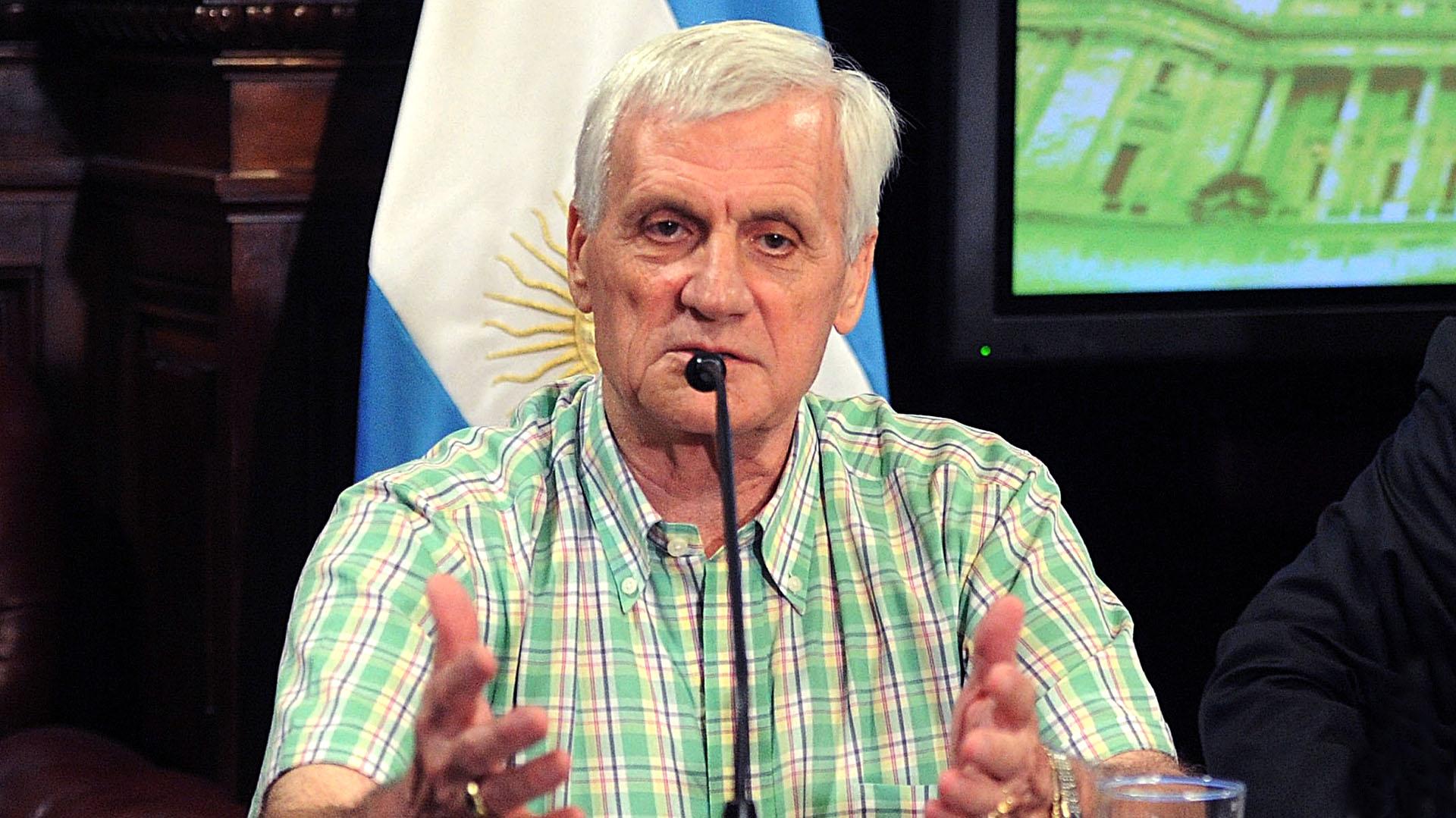 La UOM de Antonio Caló acaba de cerrar un 18,5% (Télam)
