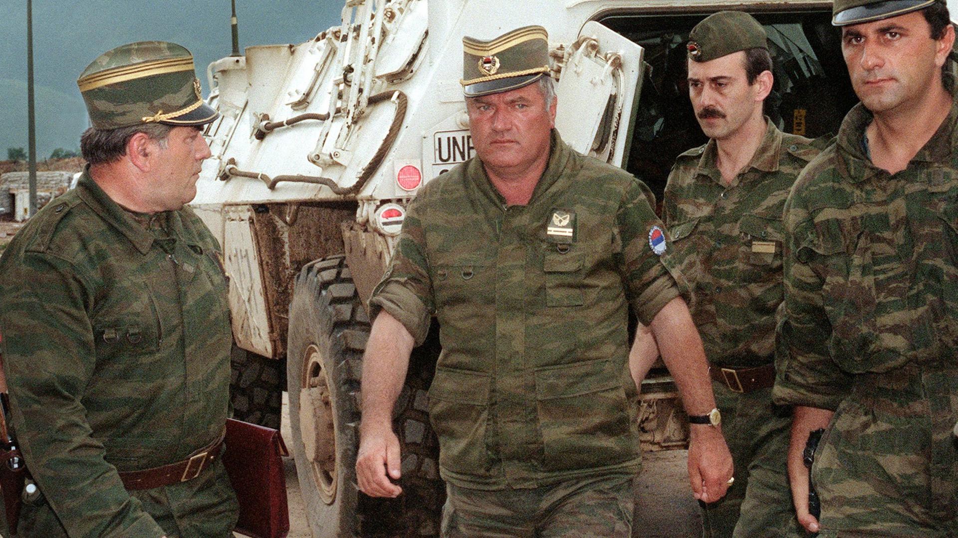 "Ratko Mladic, ""el carnicero de Srebrenica"" (AFP)"
