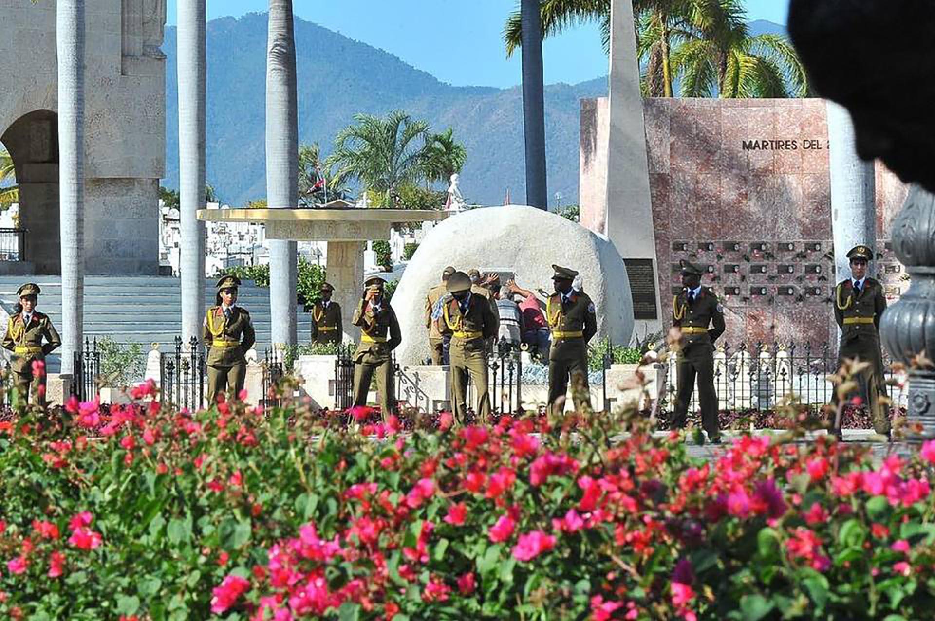 Amplio operativo de seguridad para despedir los restos de Fidel Castro (AFP)