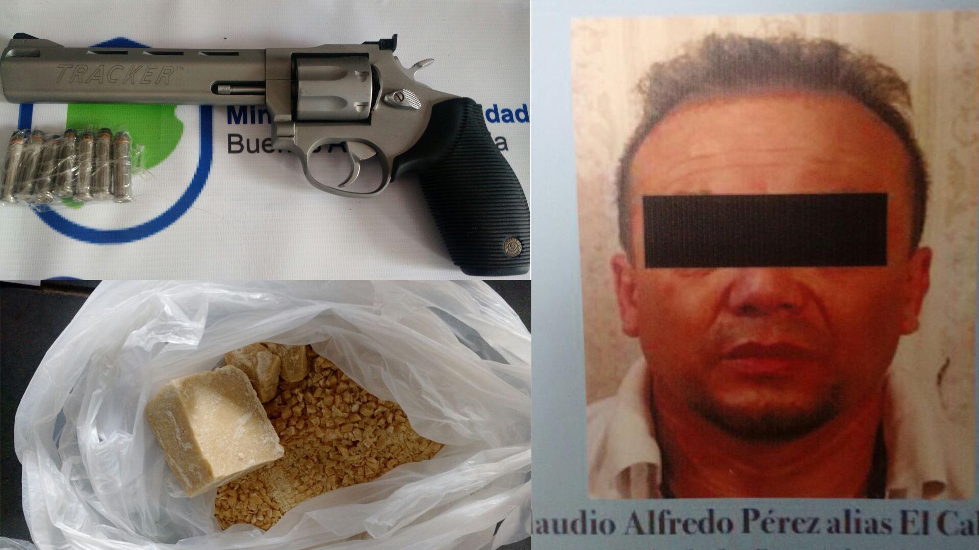 """Claudio Alberto Pérez, alias """"El Cabezón""""."""