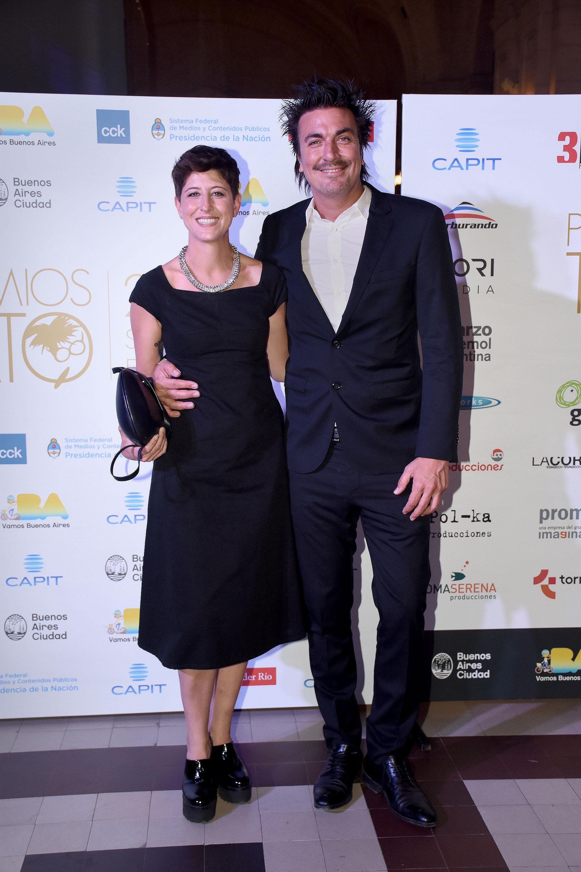 Joe Fernández en los Premios Tato 2016