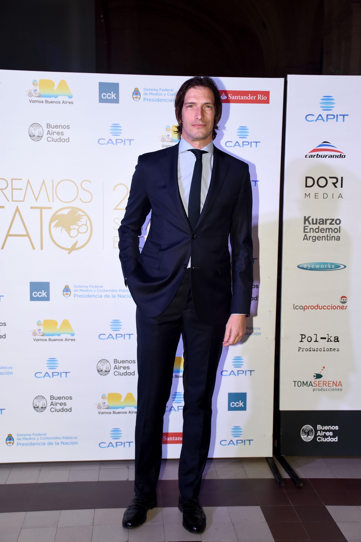 Iván de Pineda ganó el Premio Tato 2016 como Mejor Conductor