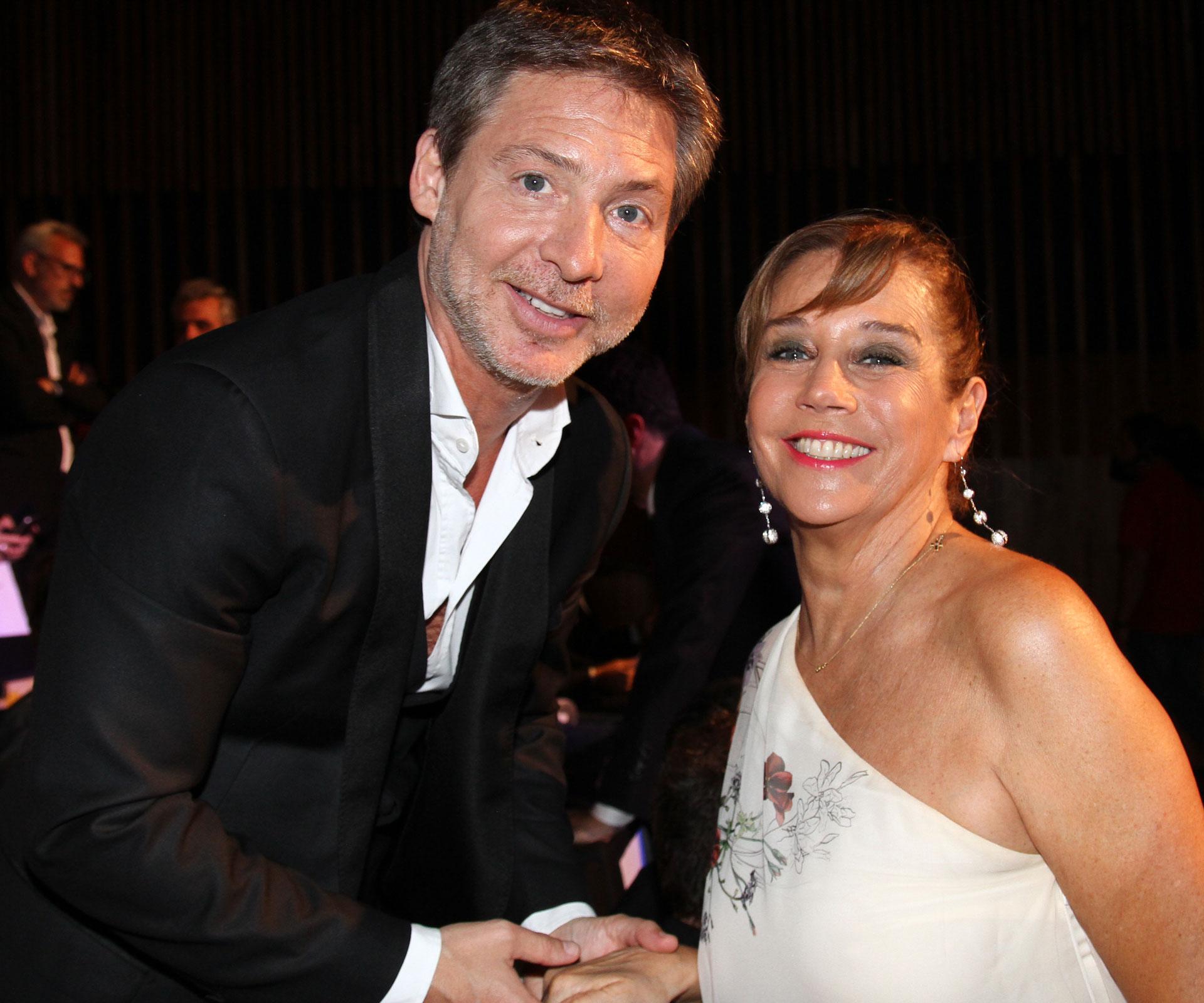 Adrián Suar y Marcela Tinayre
