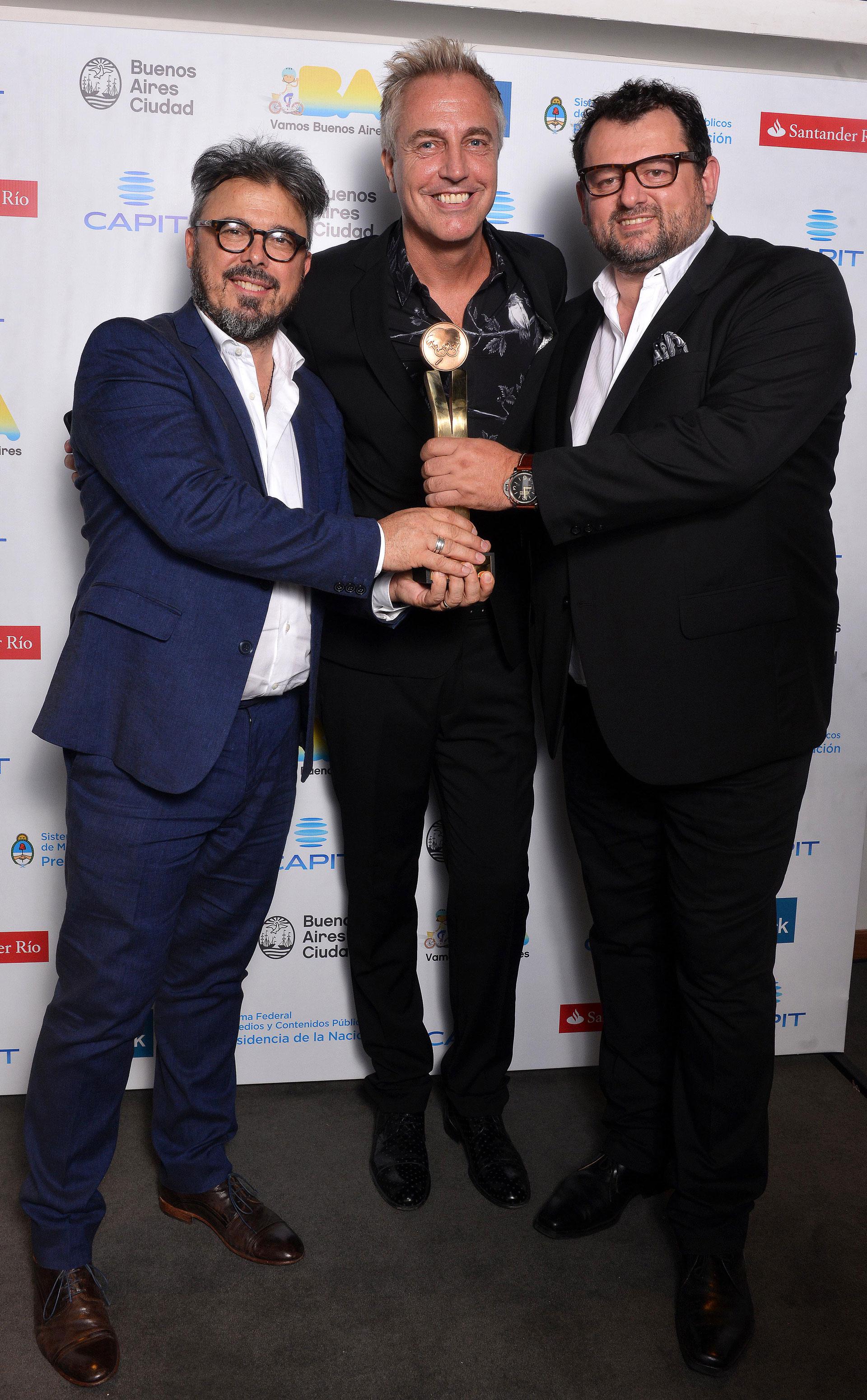 Donato De Santis, Marley y Christophe Krywonis