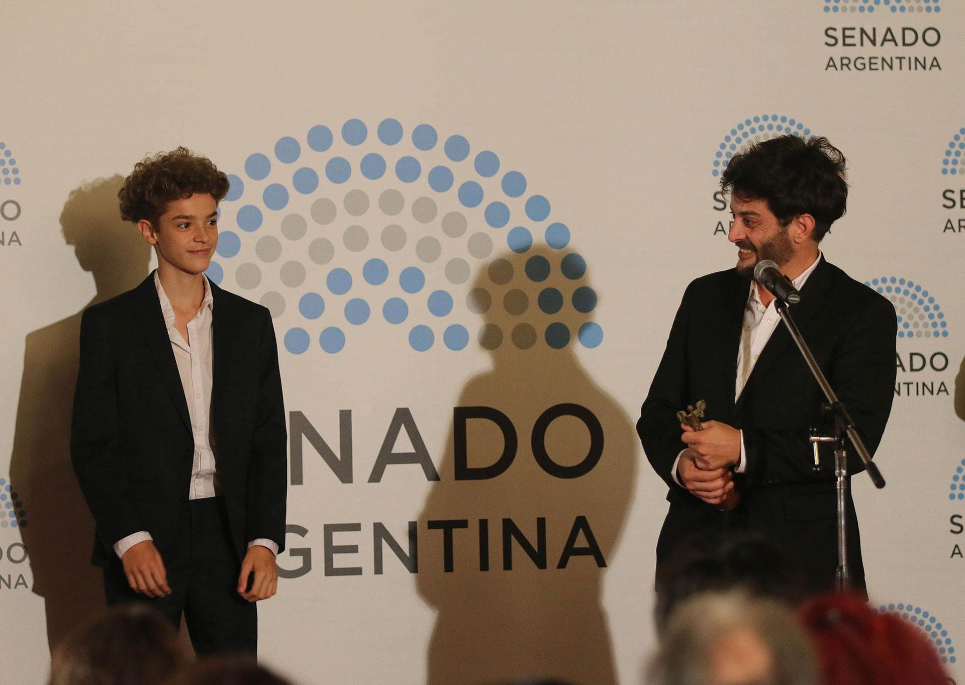 Pablo Rago y su hijo Vitto, fruto de su relación con María Carámbula