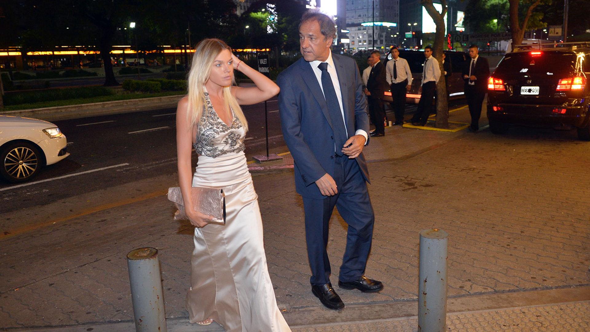 Daniel Scioli y Gisela Berger, cuando eran pareja (Verónica Guerman)