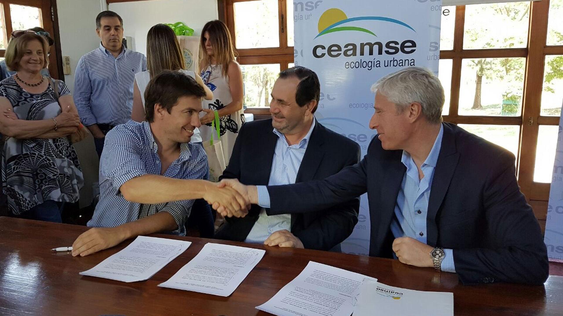 CEAMSE firmó un convenio con el municipio de Mercedes