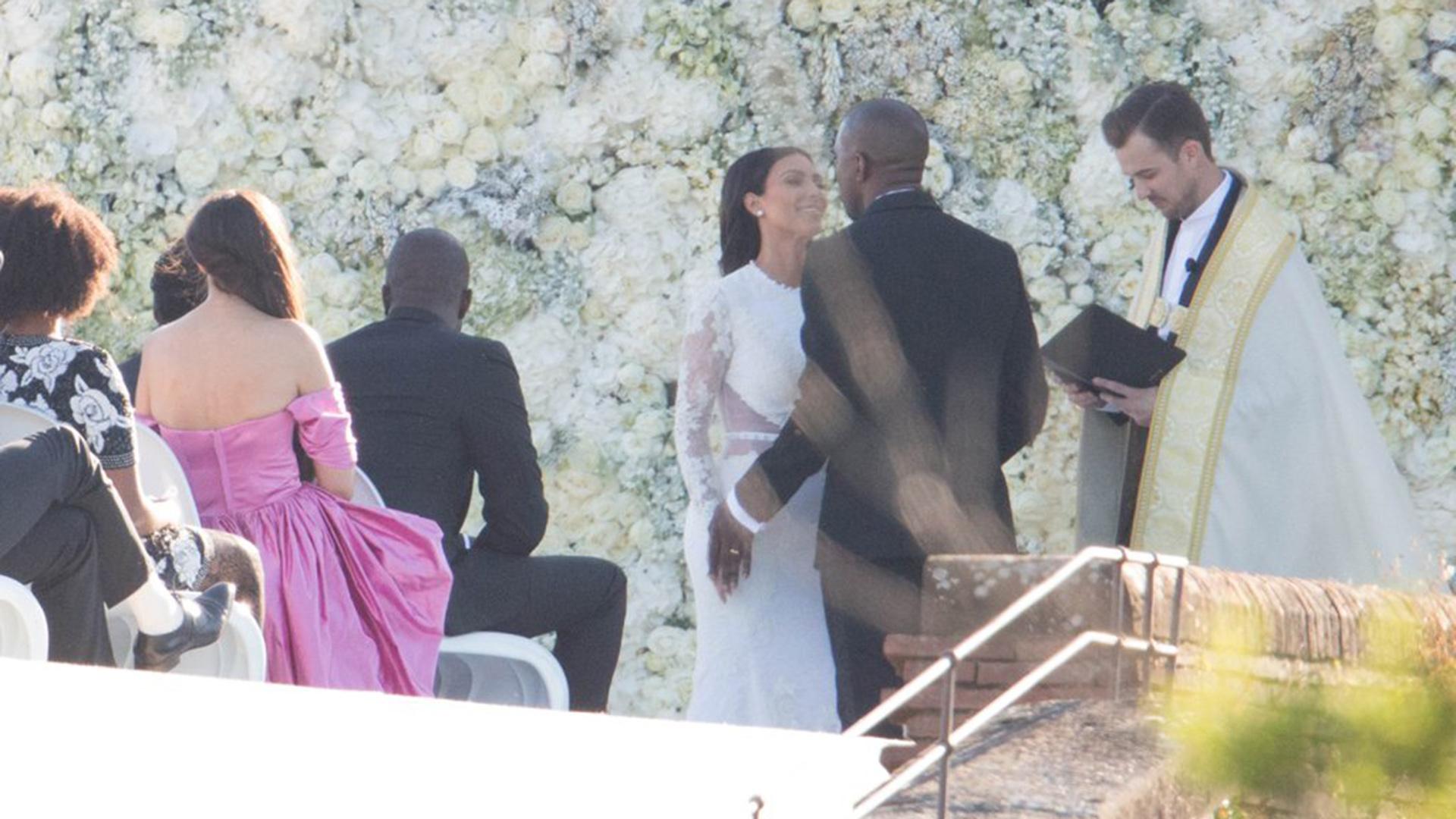 Su boda tuvo lugar en un castillo en Florencia