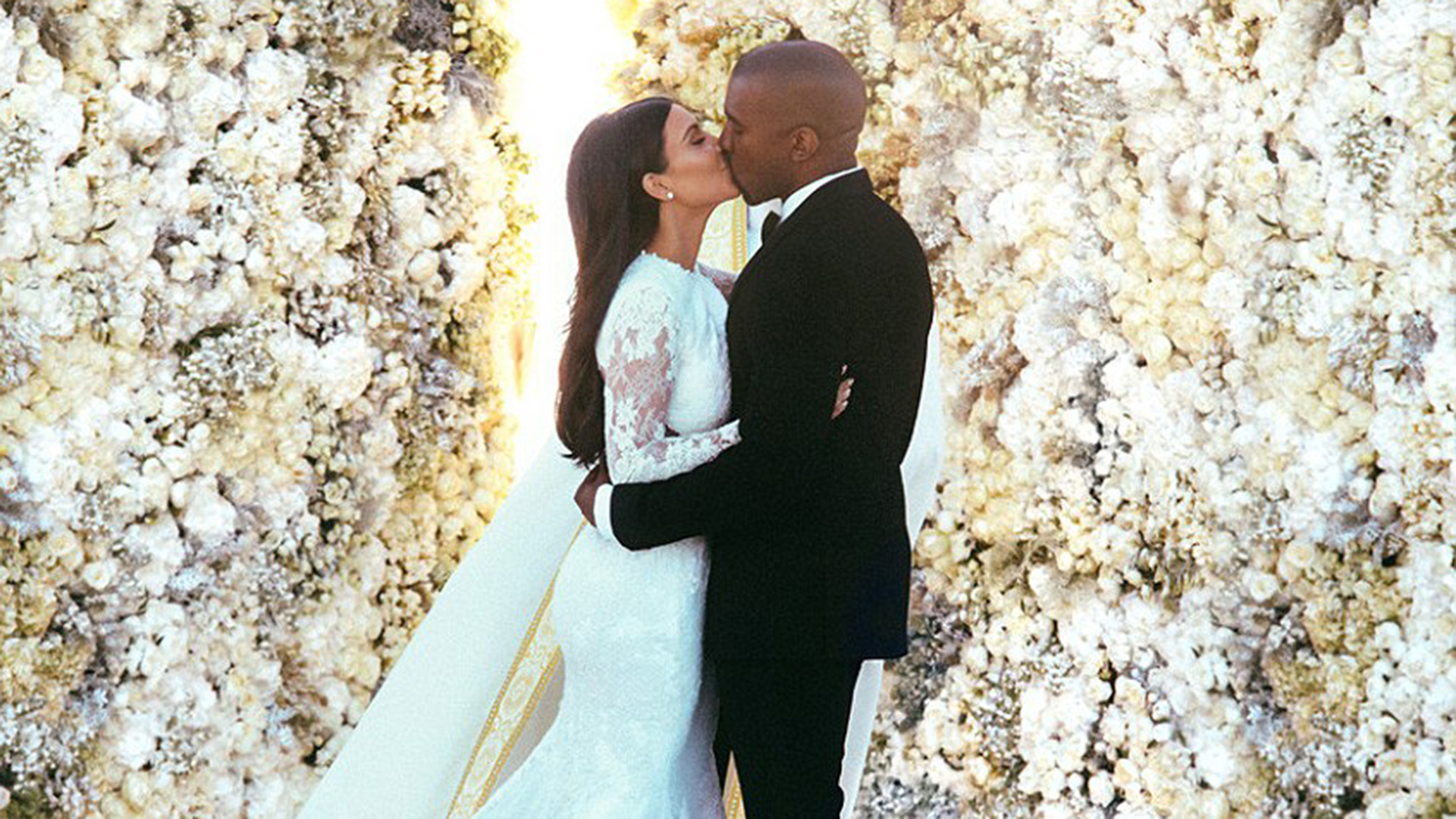 Kim y Kanye se casaron en mayo de 2014