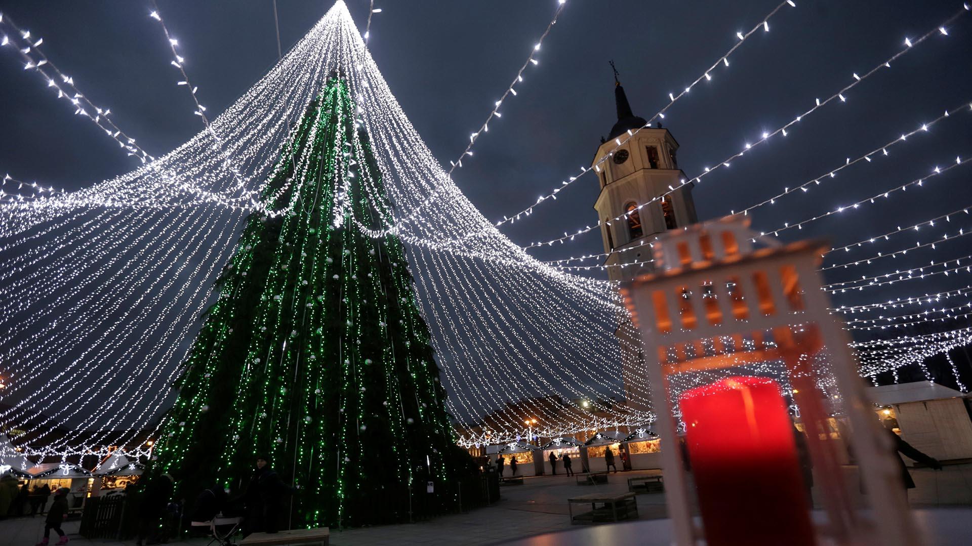 Primer arbol de navidad en argentina