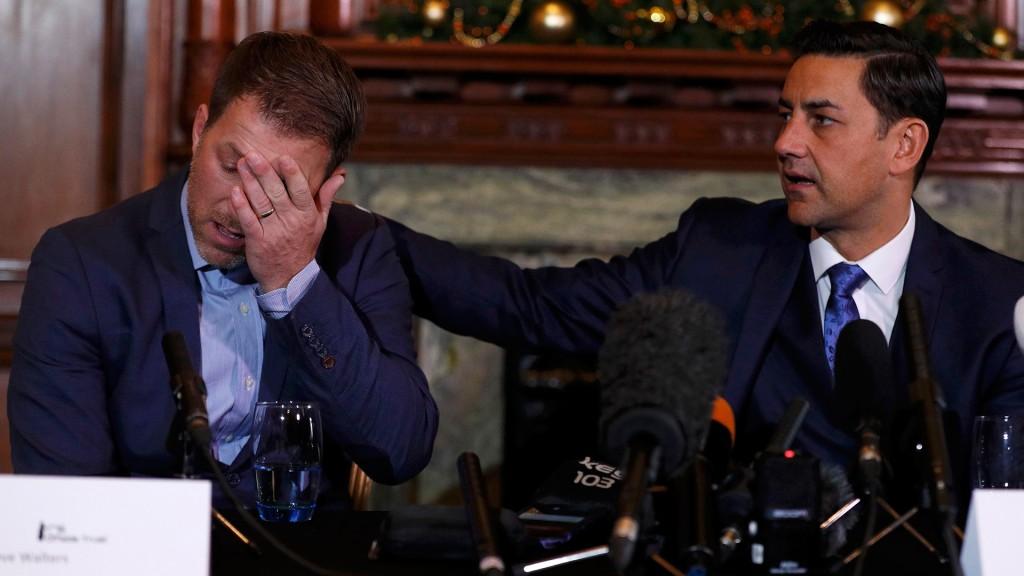 Steve Walters, ex futbolista abusado por su entrenador cuando era niño (Reuters)