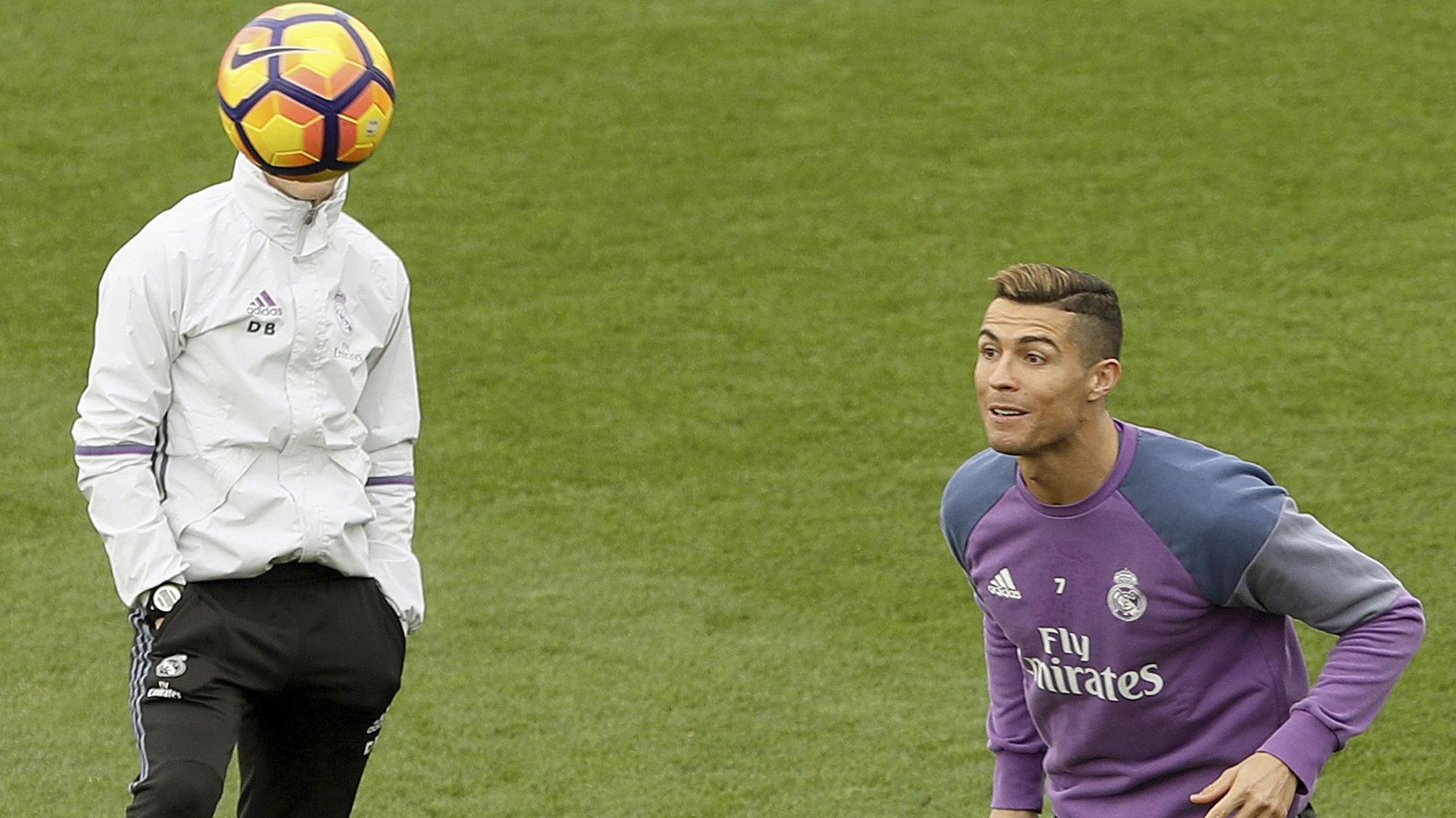 Cristiano Ronaldo lleva 10 goles en 14 partidos de Liga y es el máximo goleador(EFE)