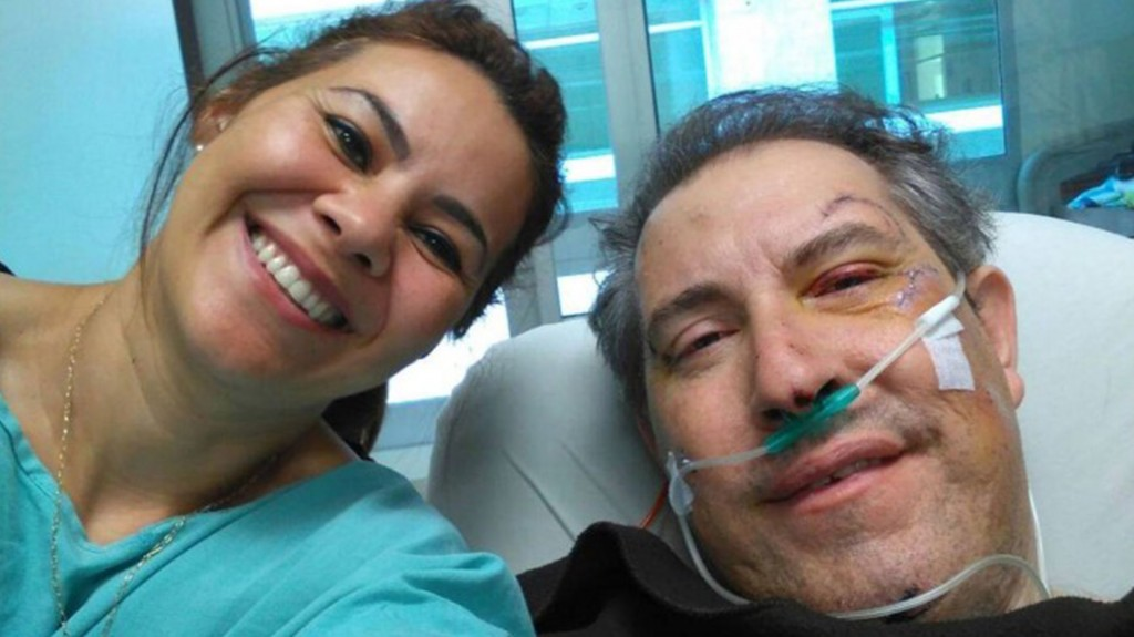 El periodista Rafael Henzel estuvo internado en un hospital de Colombia (Facebook)