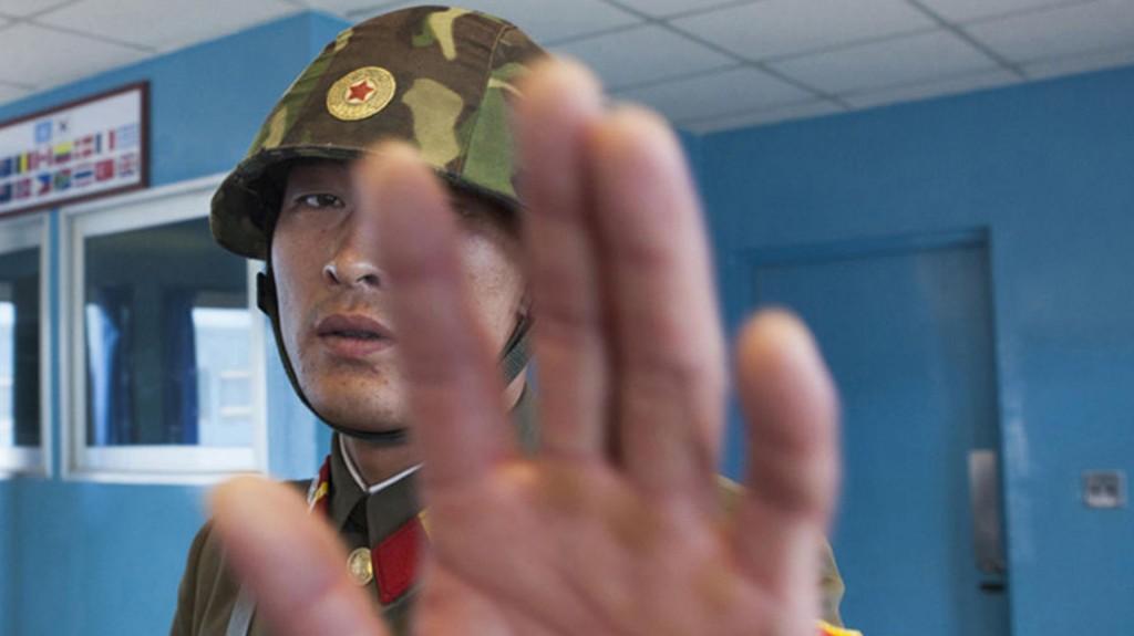 Pese a la prohibición, Lafforgue dijo que no era difícil retratar a los soldados, aunque se molestan si uno se acerca demasiado