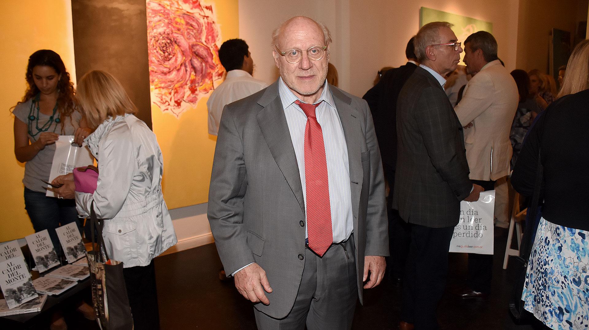 Julio César Crivelli, presidente de la Asociación Amigos del Museo Nacional de Bellas Artes