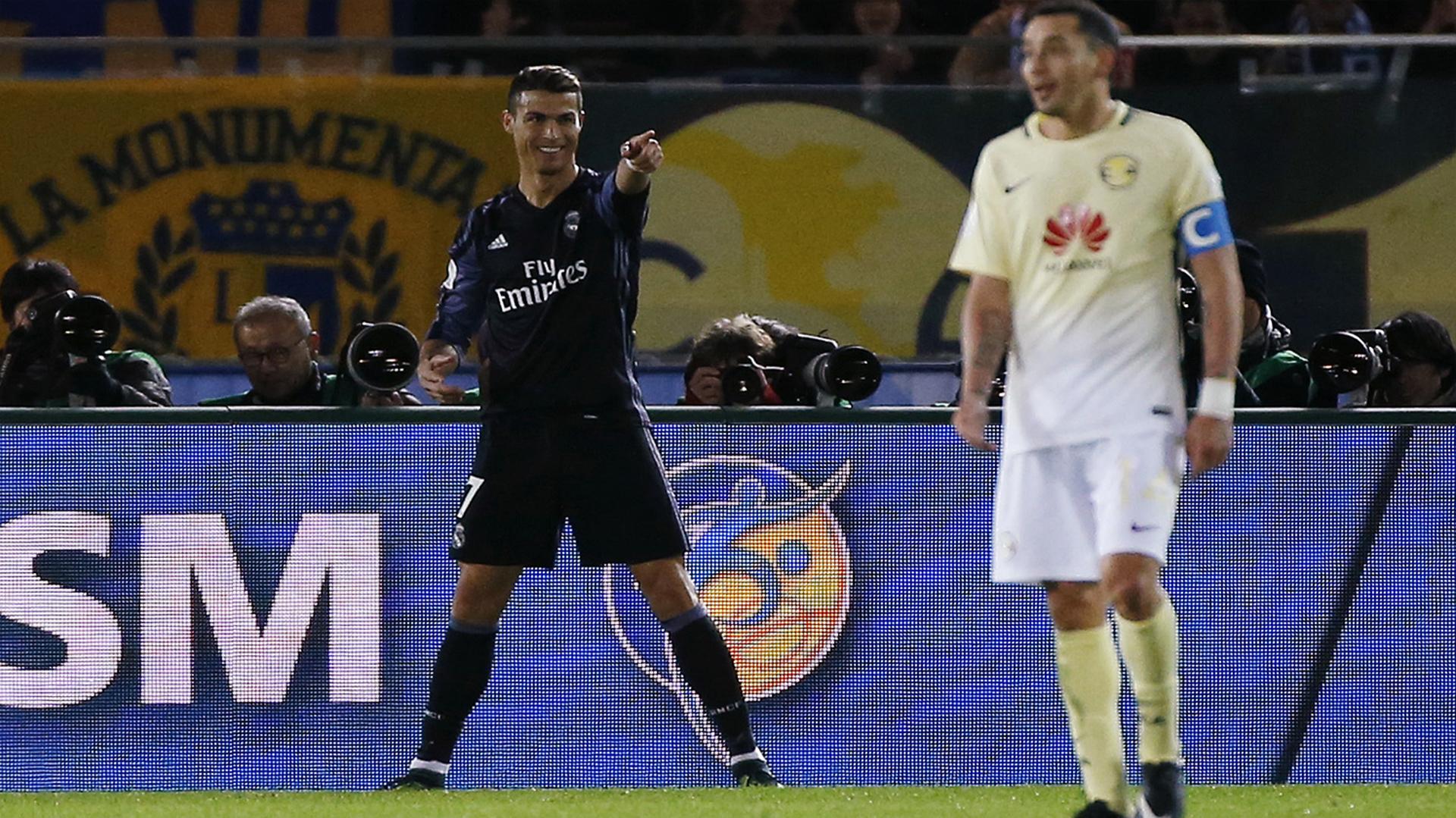 El gol del portugués se vio envuelto en la polémica de la nueva tecnología (Reuters)