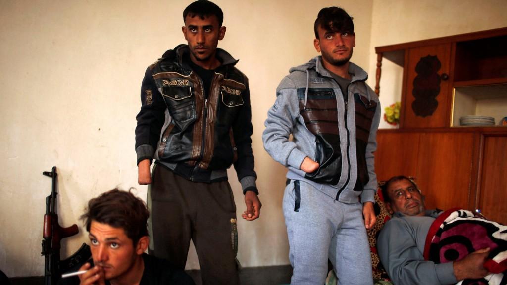 La familia Hassan fue brutalmente golpeada por los terroristas de ISIS (Reuters)