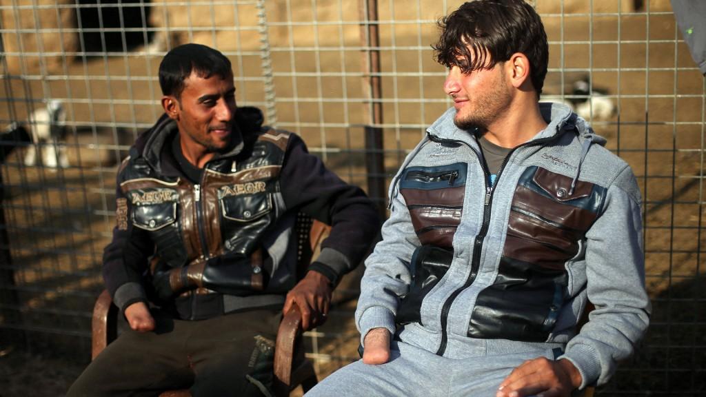 Los hermanos Hassan fueron acusados de robar harina (Reuters)