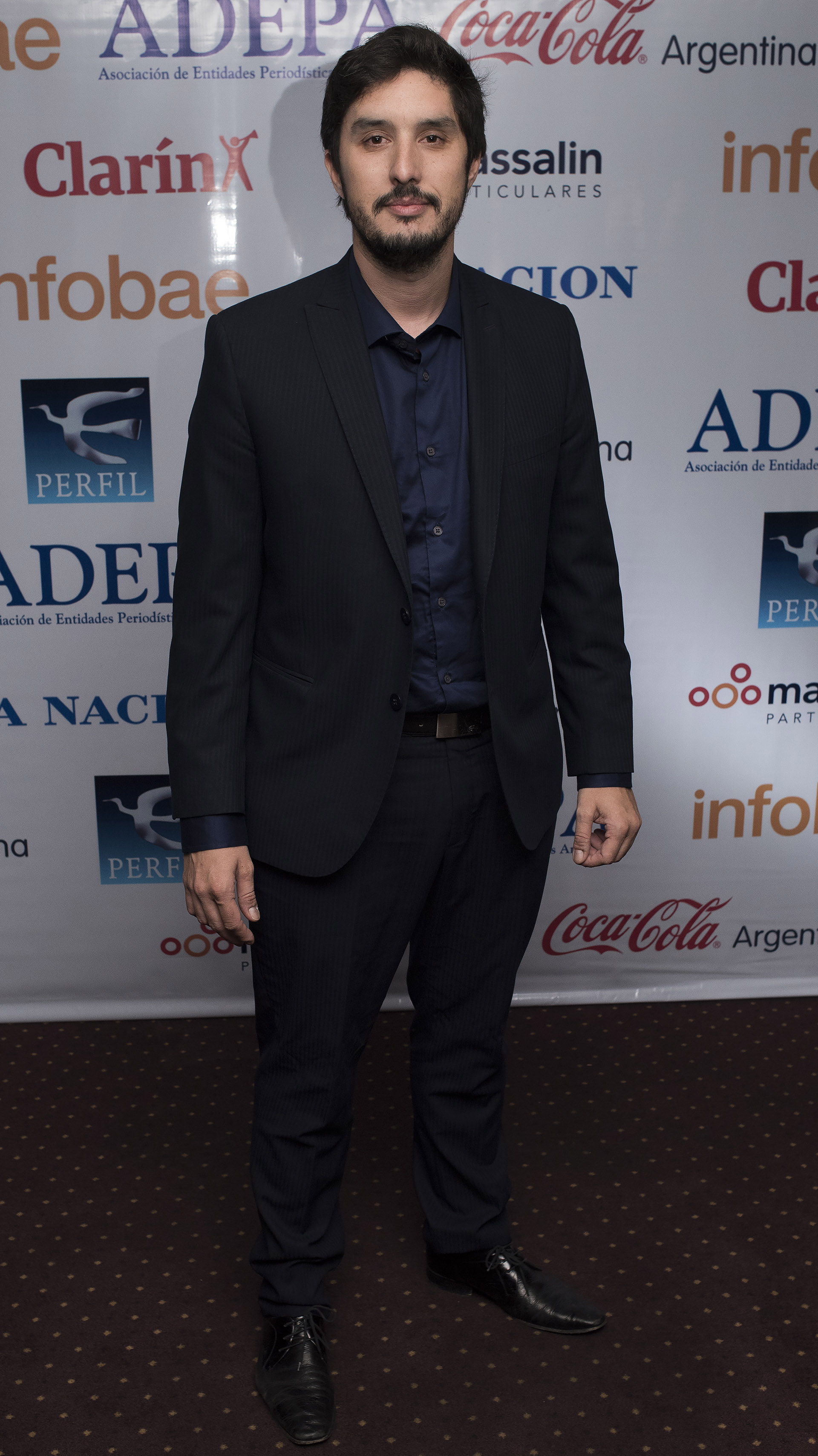 El periodista Lucas Morando