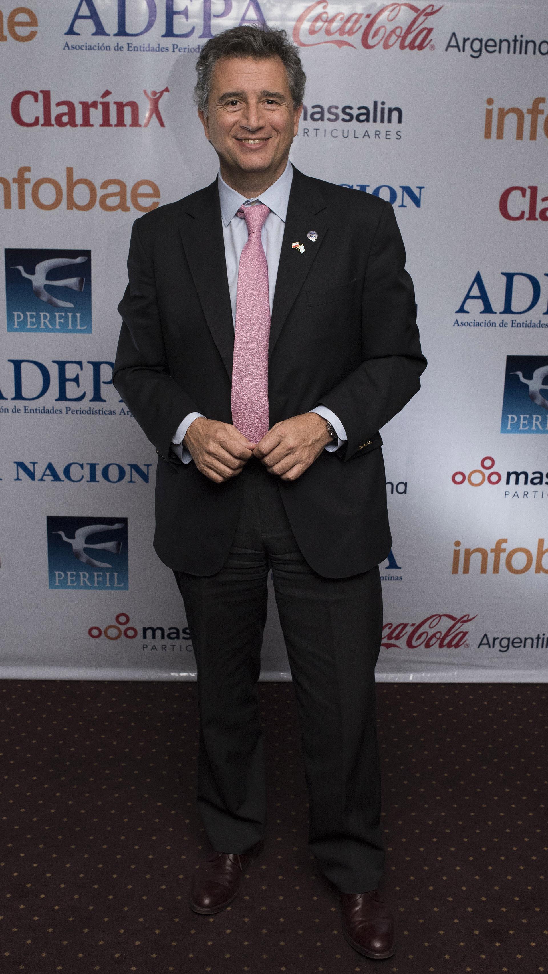Luis Miguel Etchevehere, director de la Sociedad Rural Argentina